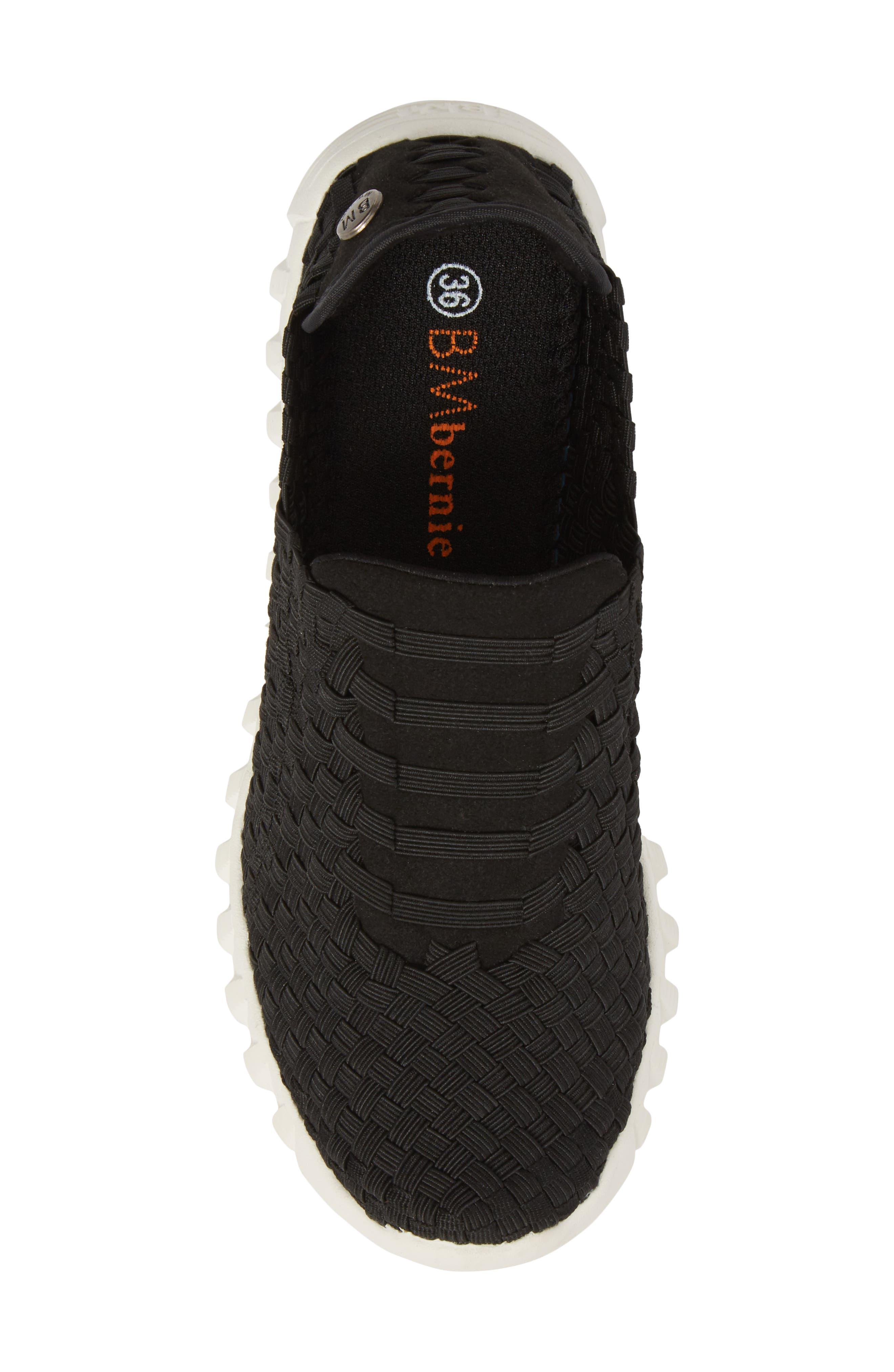 Vivaldi Slip-On Sneaker,                             Alternate thumbnail 5, color,                             BLACK