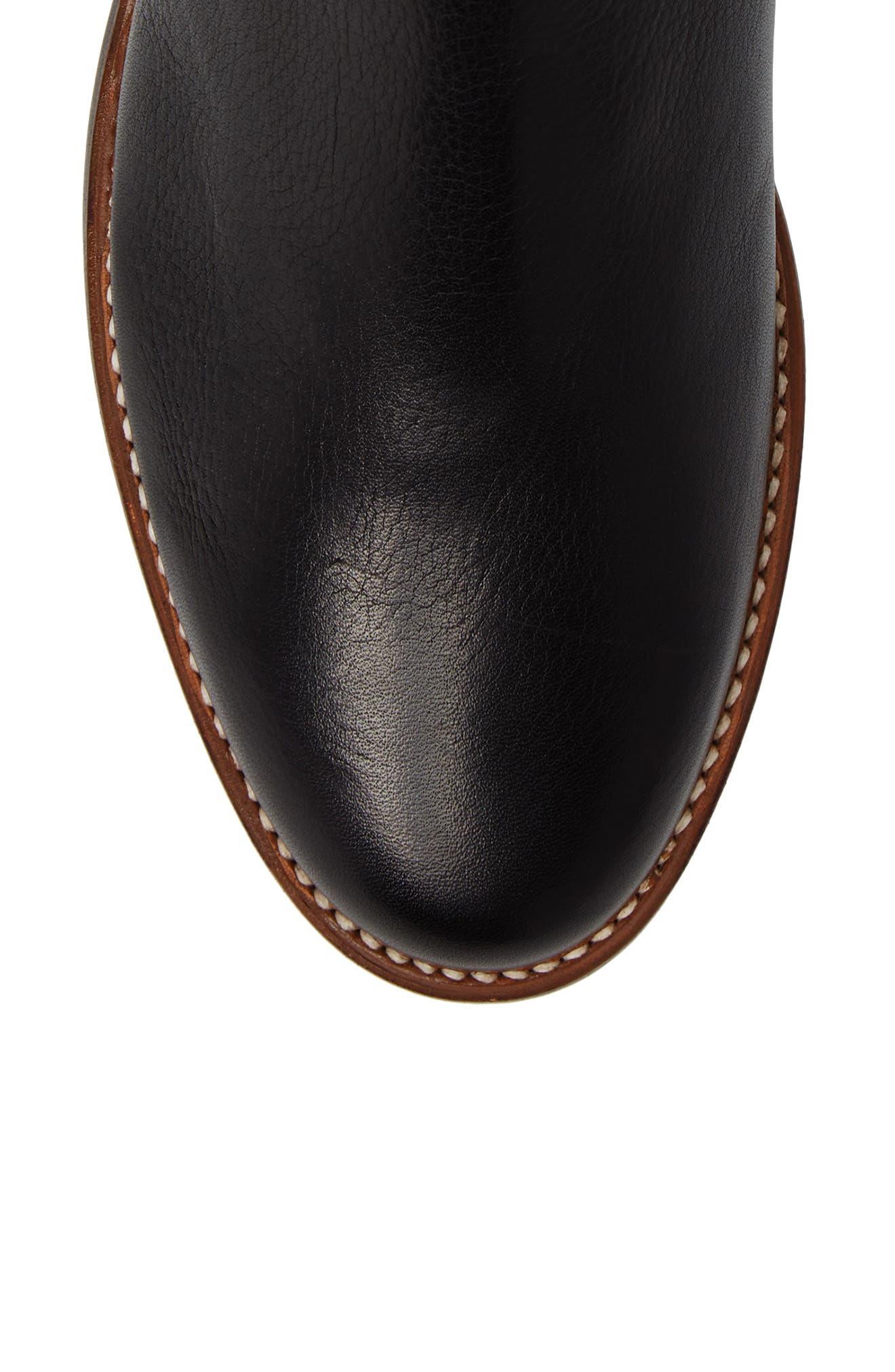 Ariat Santa Fe Mid Zip Boot,                             Alternate thumbnail 5, color,                             001