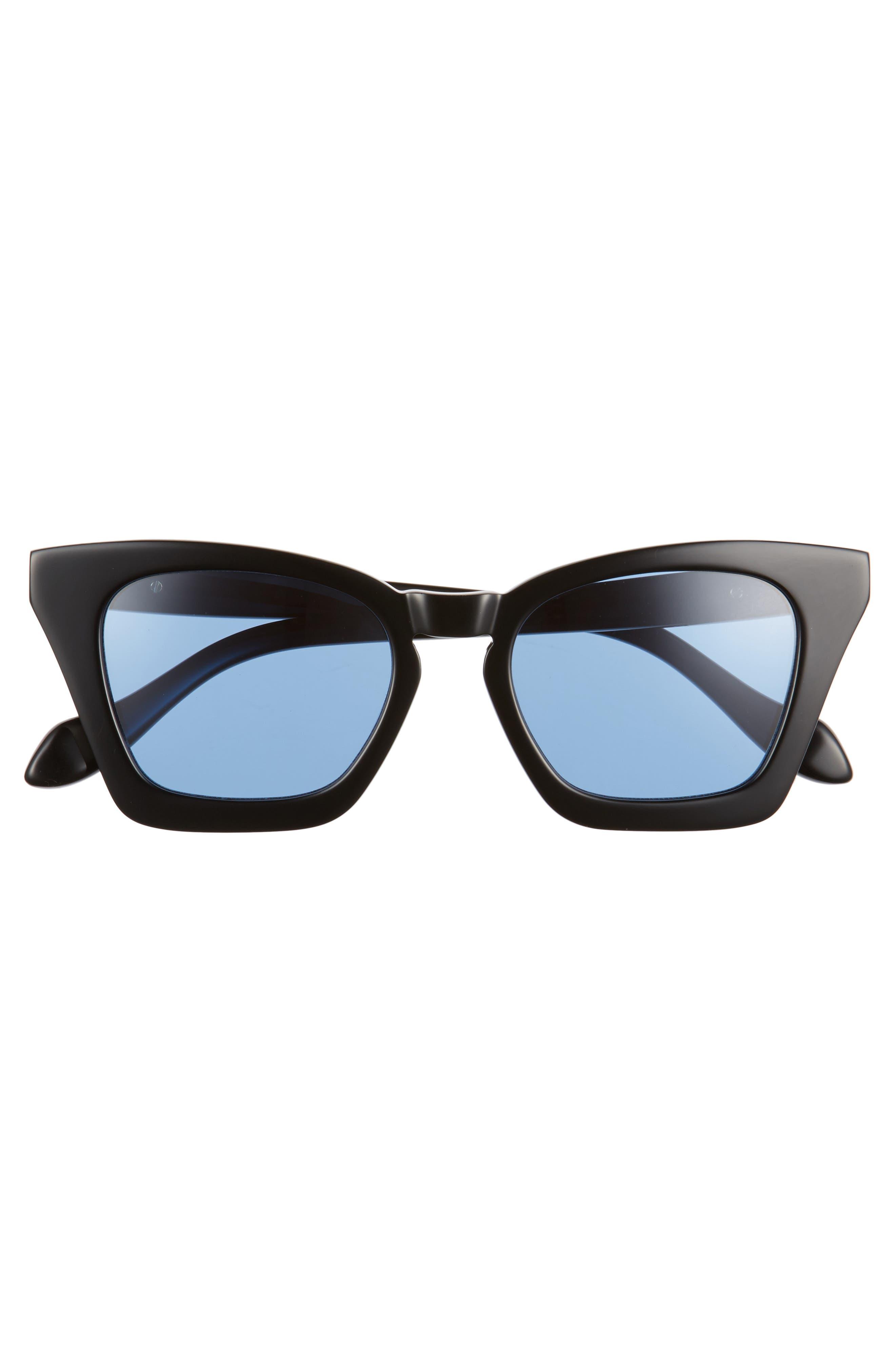 Ginza 50mm Cat Eye Sunglasses,                             Alternate thumbnail 8, color,
