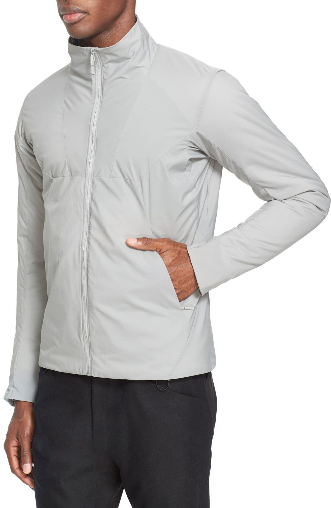 'MionnIS' Water ResistantJacket,                             Alternate thumbnail 6, color,                             020