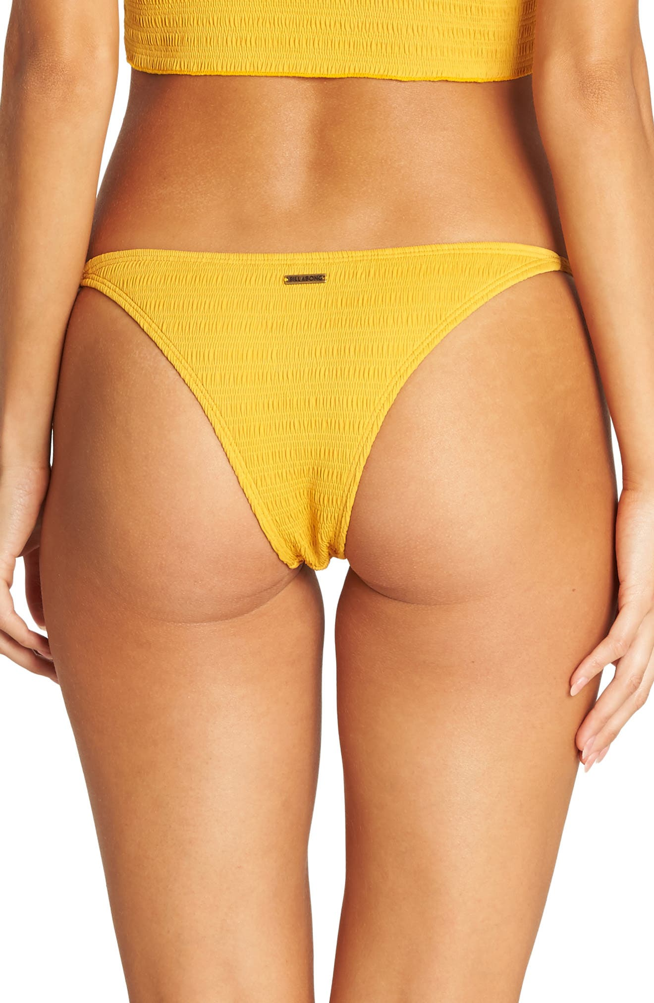 BILLABONG,                             Sunrise Isla Bikini Bottoms,                             Alternate thumbnail 2, color,                             GOLDEN GLOW