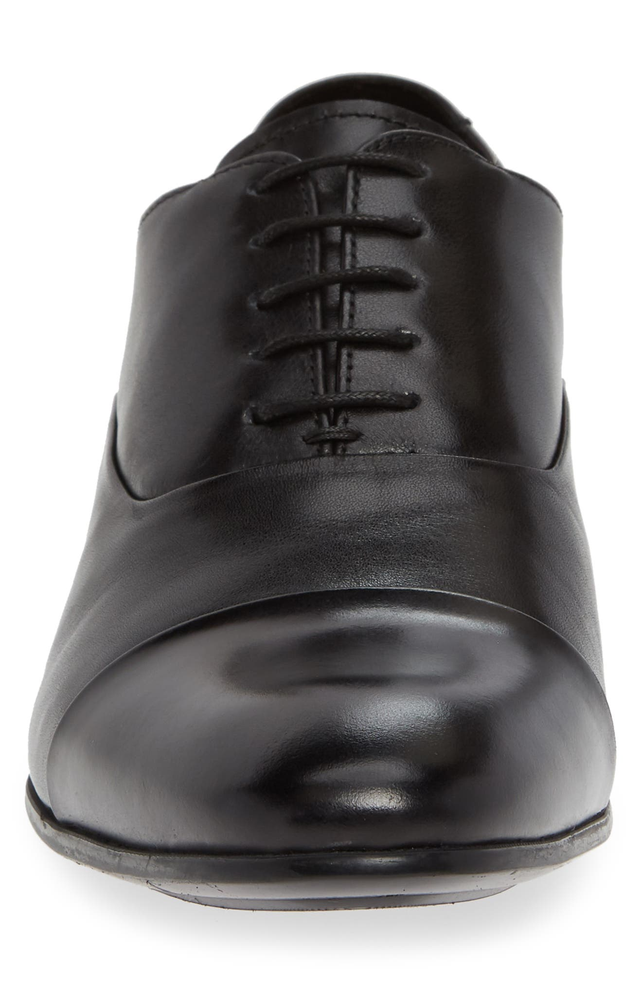 KENNETH COLE NEW YORK,                             Mix Cap Toe Oxford,                             Alternate thumbnail 4, color,                             008