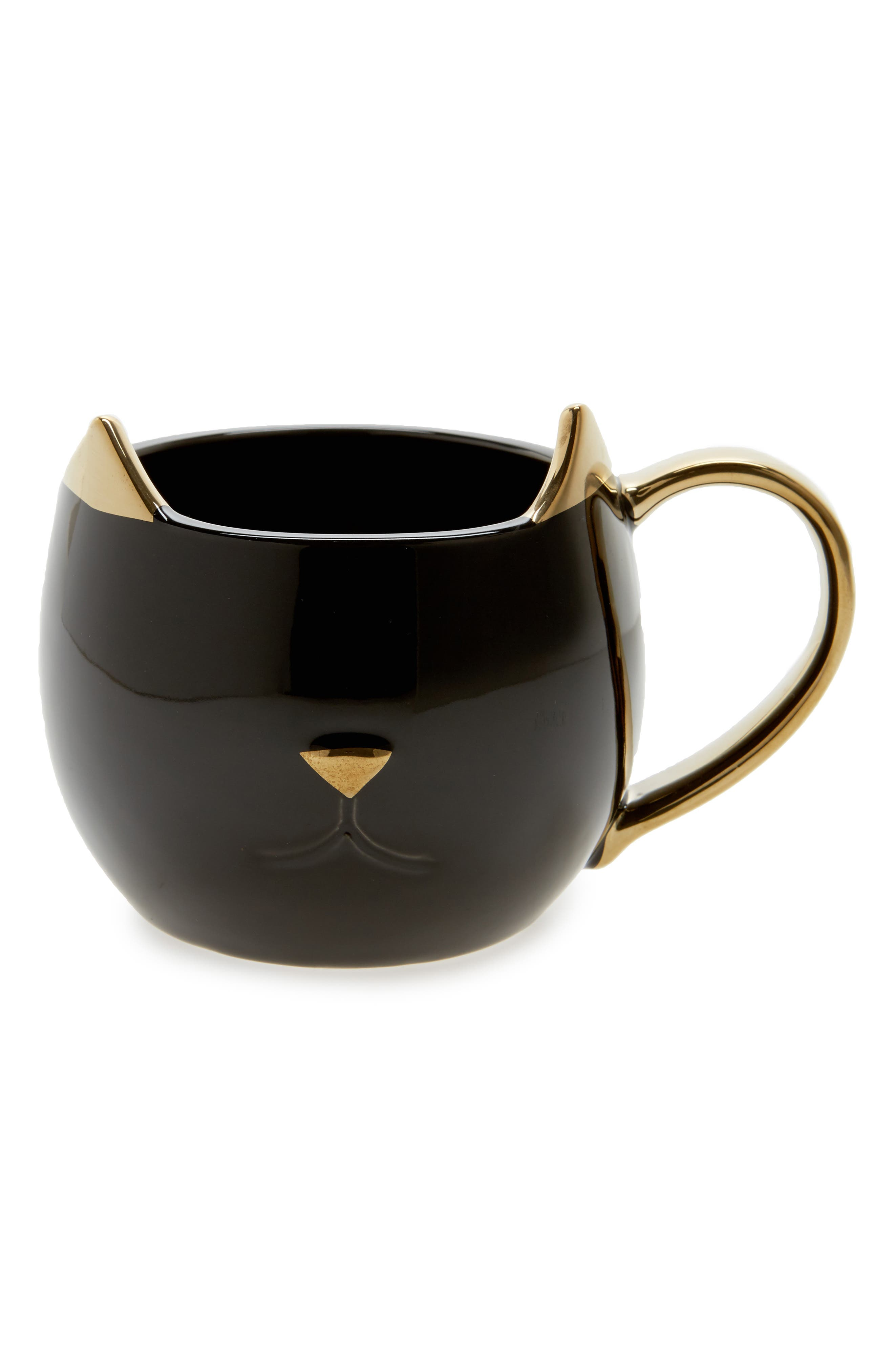 Chloe Cat Ceramic Mug,                             Main thumbnail 1, color,                             001