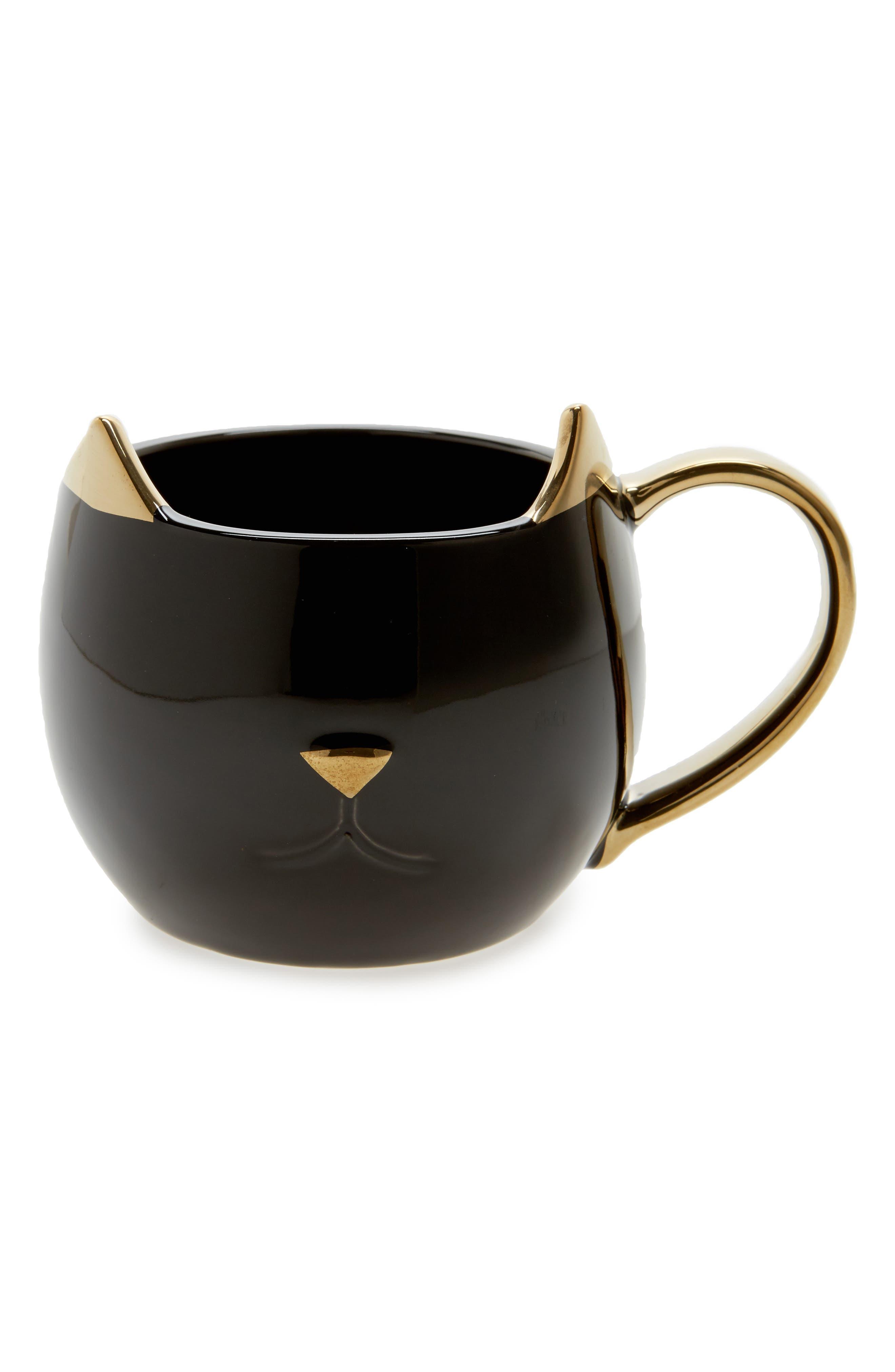 Chloe Cat Ceramic Mug,                         Main,                         color,