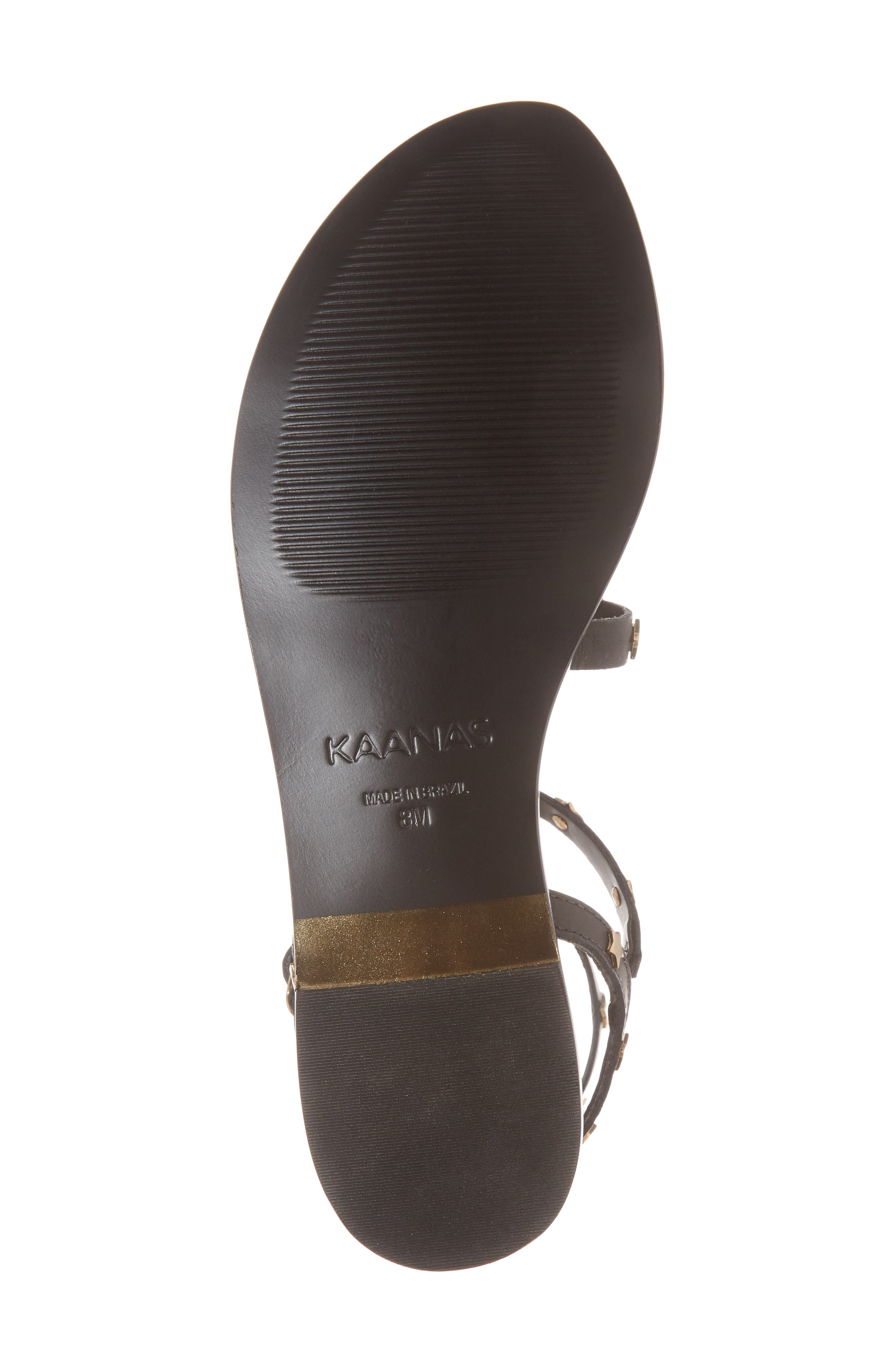 KAANAS,                             Lapa Gladiator Sandal,                             Alternate thumbnail 6, color,                             001