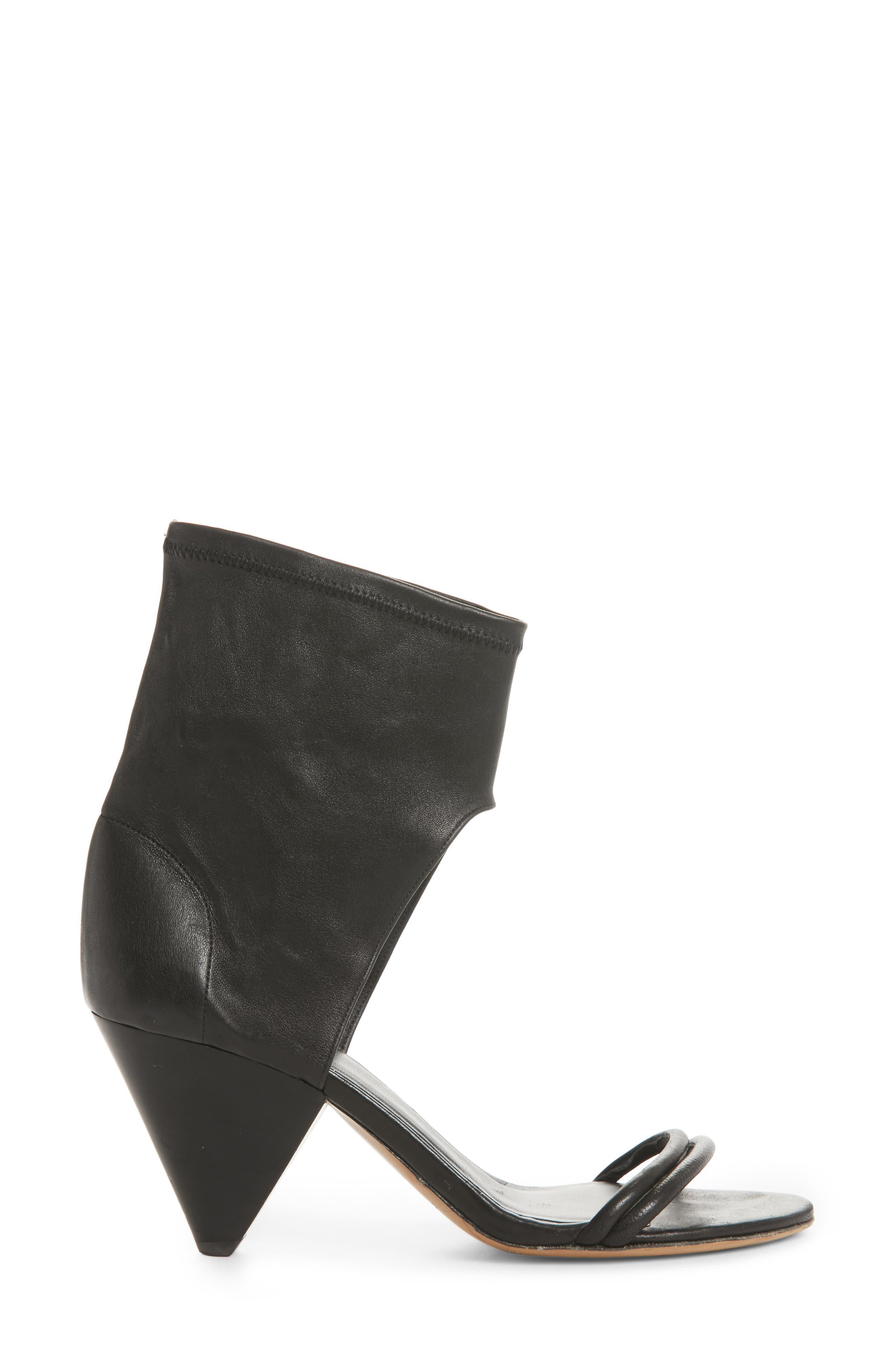 Melvy Ankle Shield Sandal,                             Alternate thumbnail 3, color,