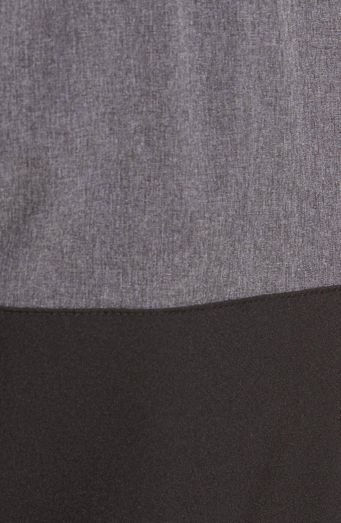 Split Board Shorts,                             Alternate thumbnail 5, color,                             001