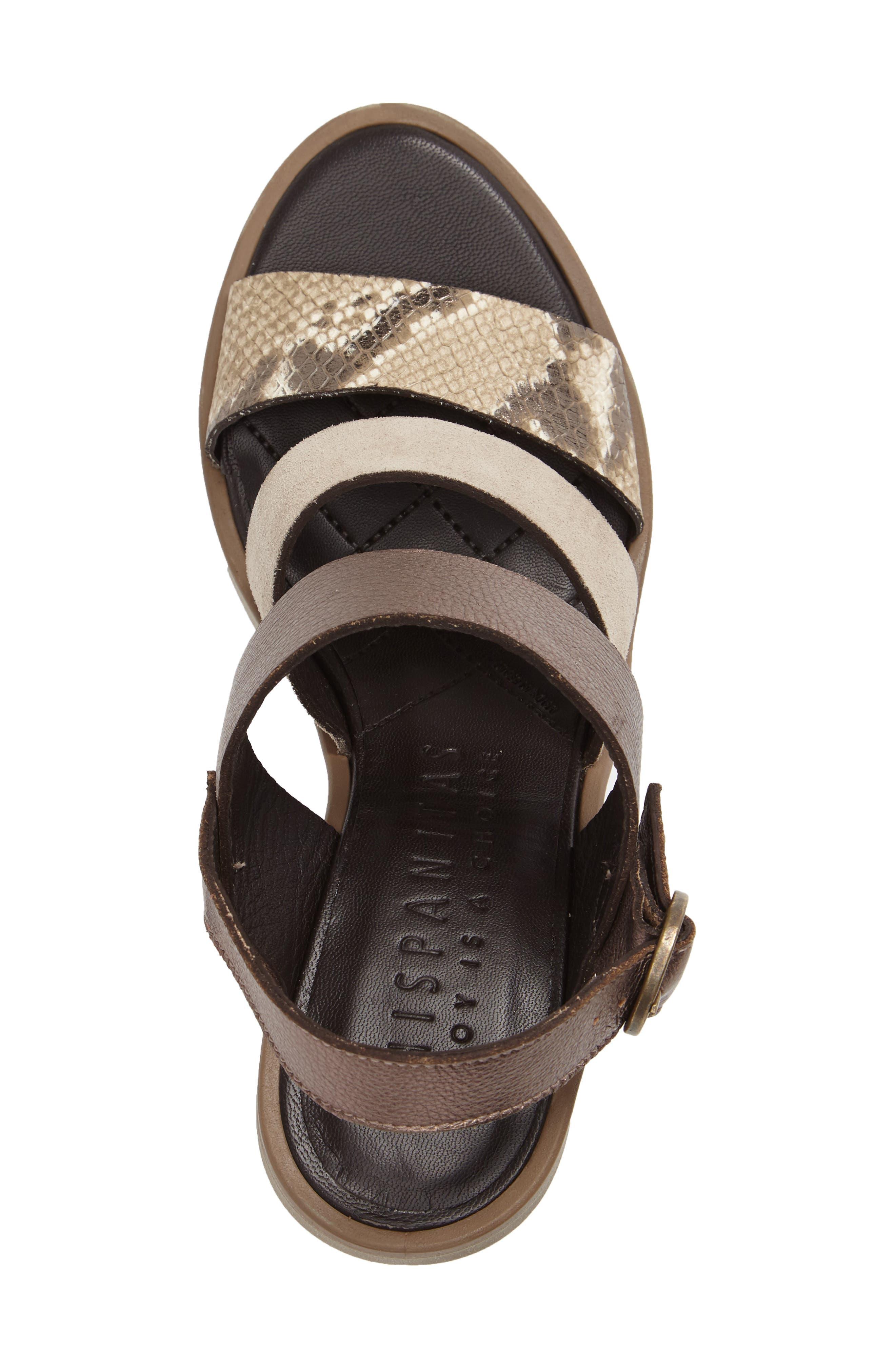 Greer Strappy Slingback Sandal,                             Alternate thumbnail 6, color,