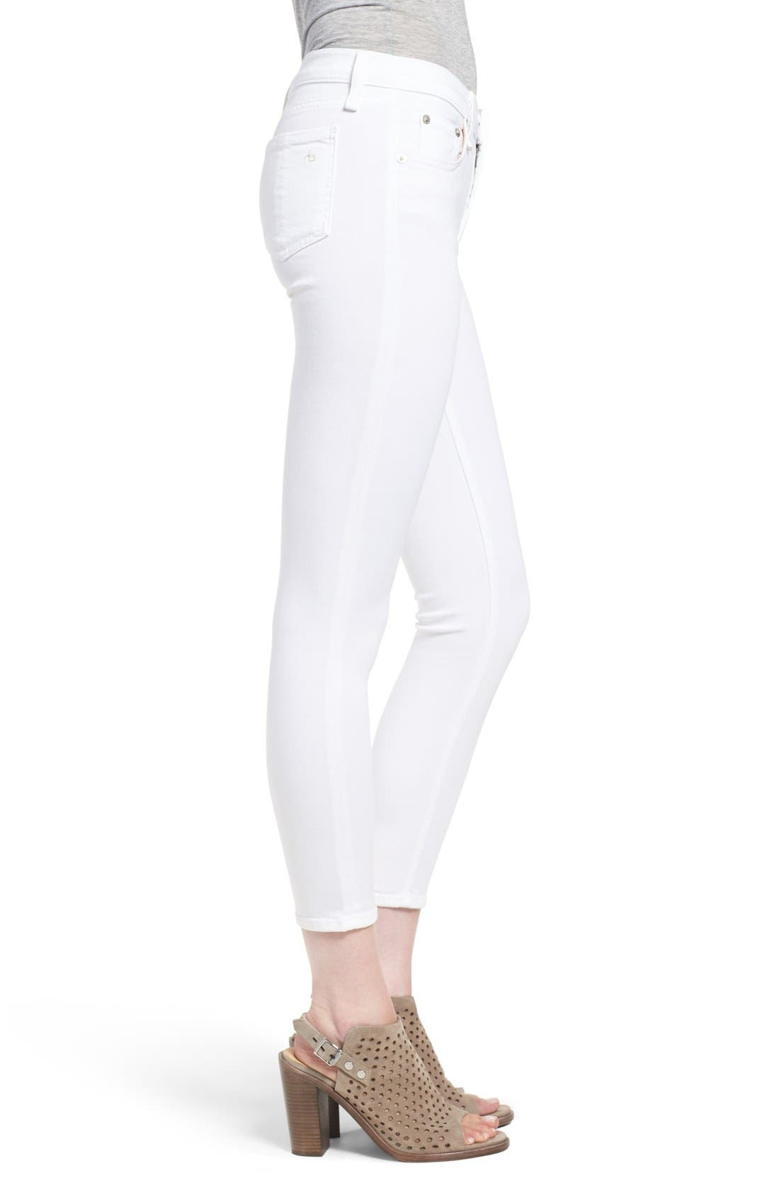'Capri' Skinny Crop Jeans,                             Alternate thumbnail 2, color,
