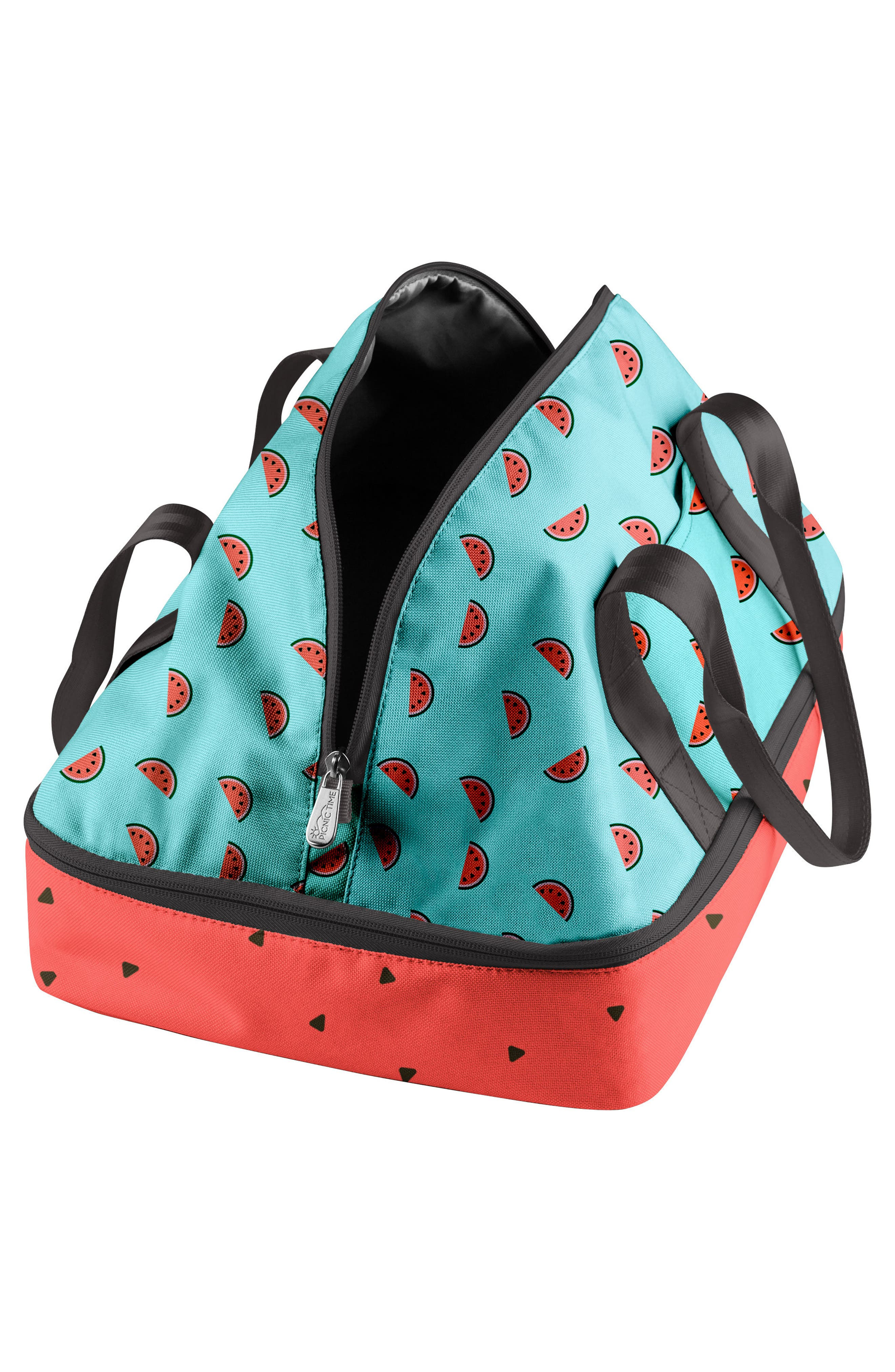 'Potluck' Casserole Tote,                             Alternate thumbnail 2, color,                             BLUE WATERMELON
