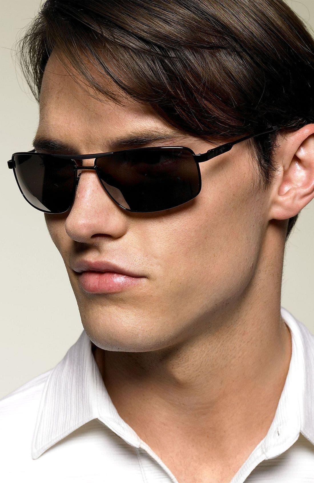 'Kapena - PolarizedPlus<sup>®</sup>2' Sunglasses,                             Alternate thumbnail 2, color,                             001