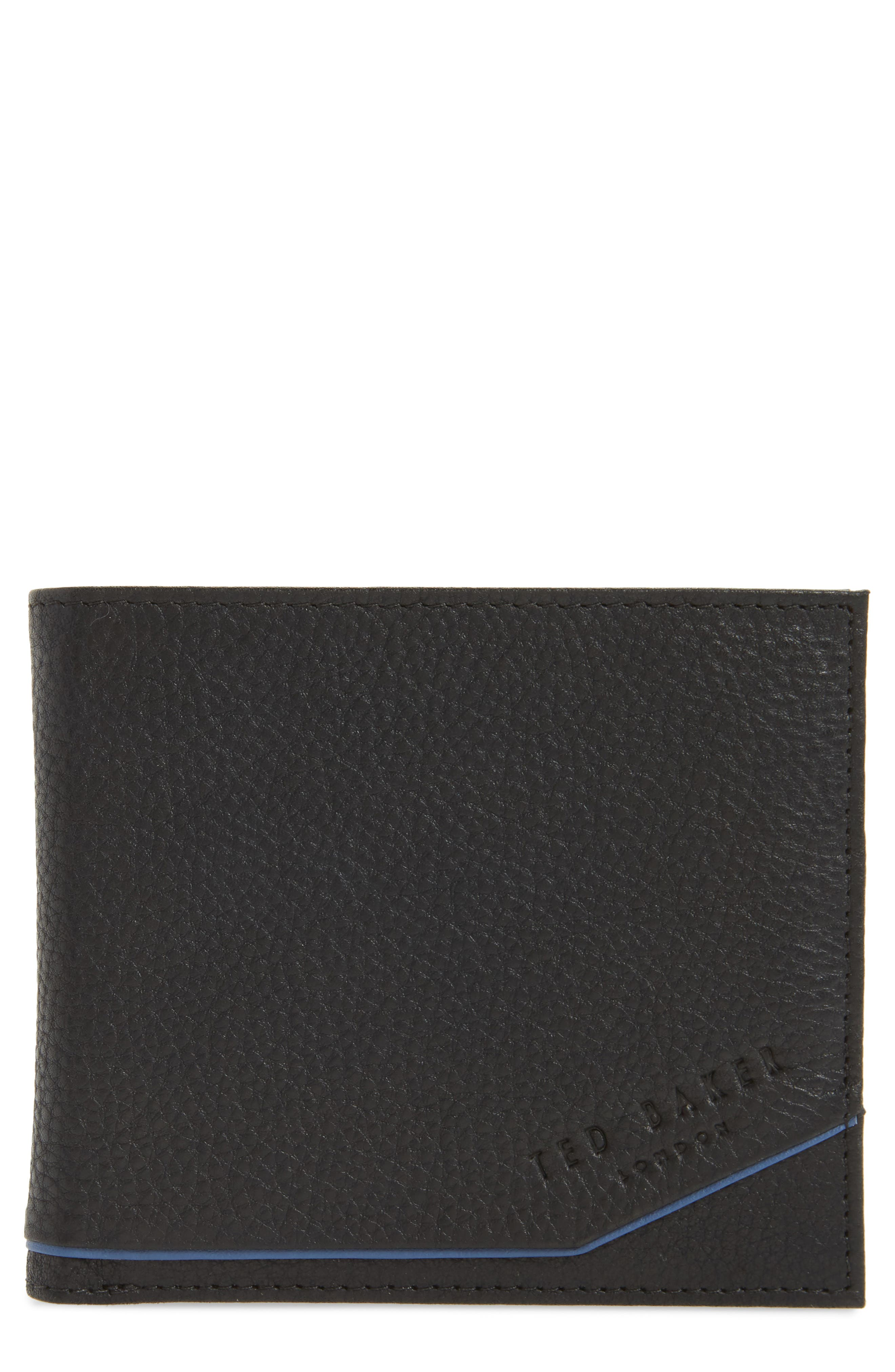 Persia Leather Wallet,                             Main thumbnail 1, color,                             001
