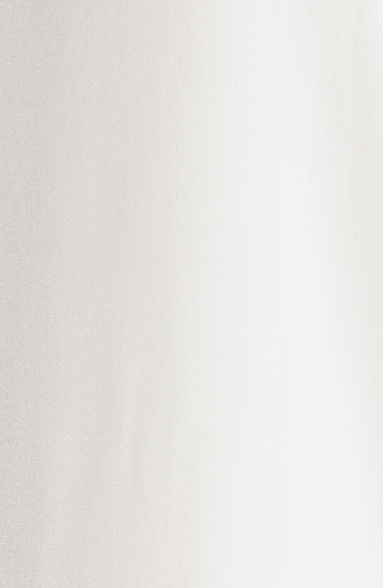 Strapless Silk Column Gown,                             Alternate thumbnail 5, color,                             100
