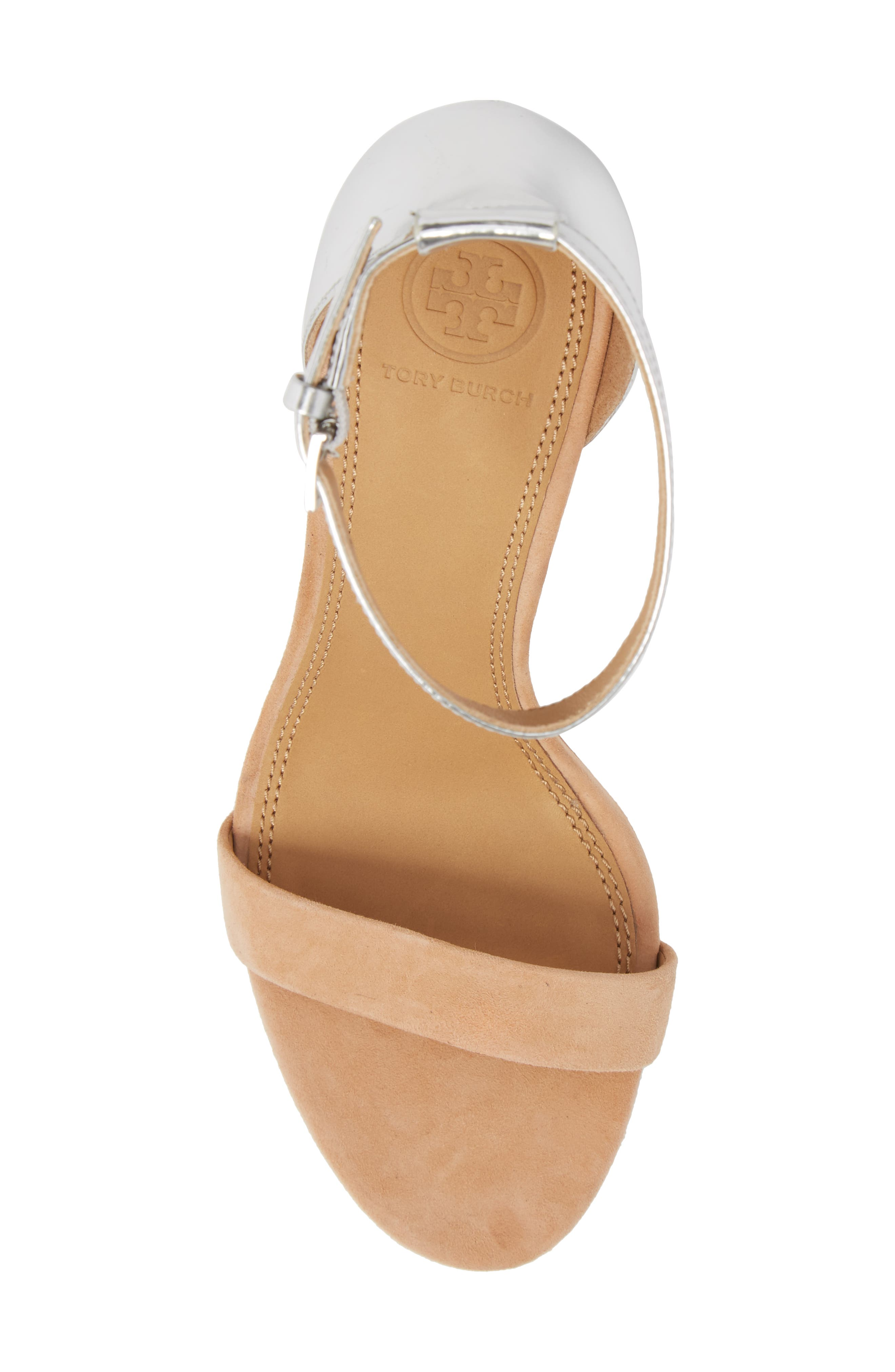 Ellie Ankle Strap Sandal,                             Alternate thumbnail 5, color,                             020