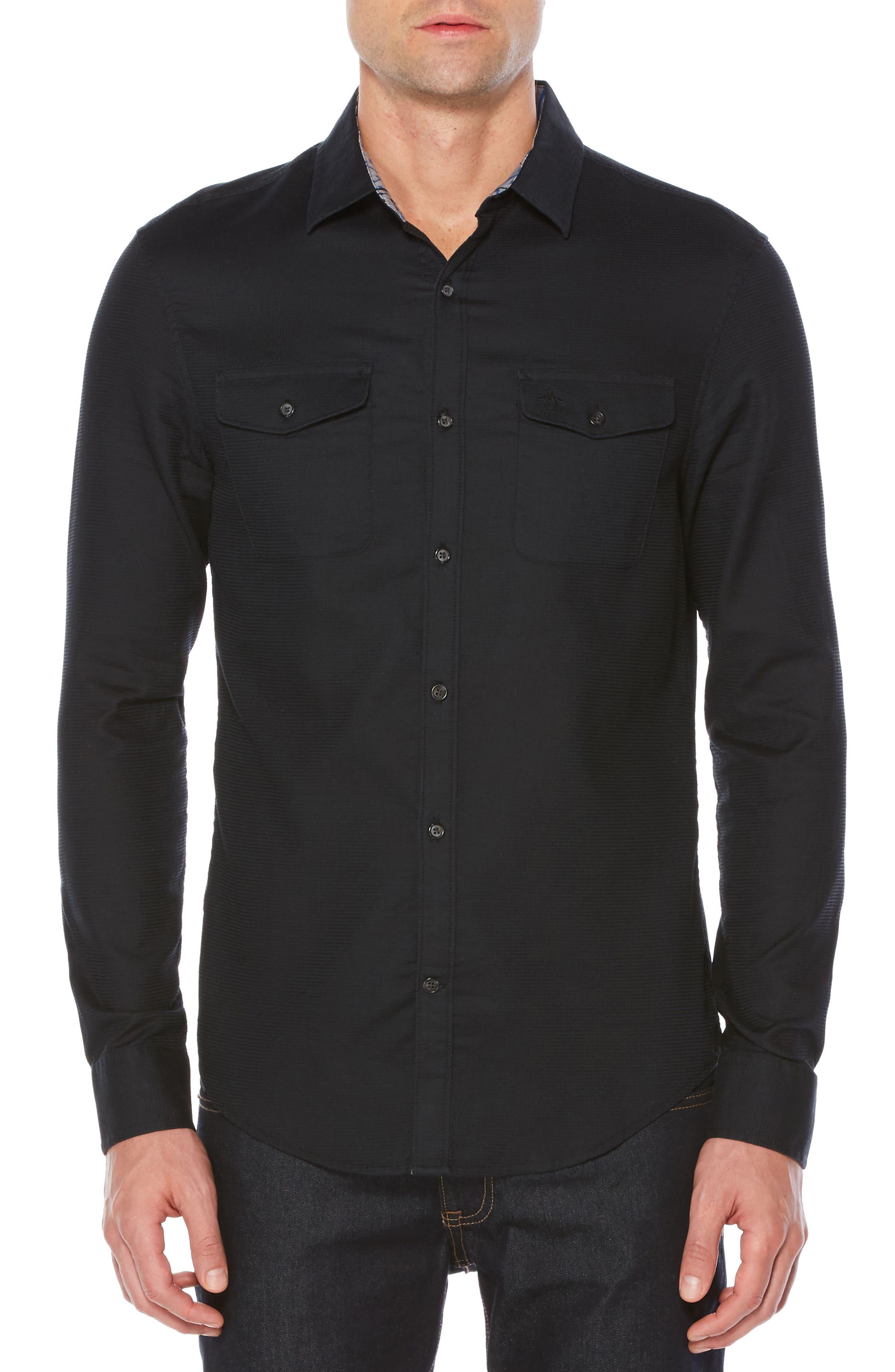 Woven Shirt,                             Main thumbnail 1, color,