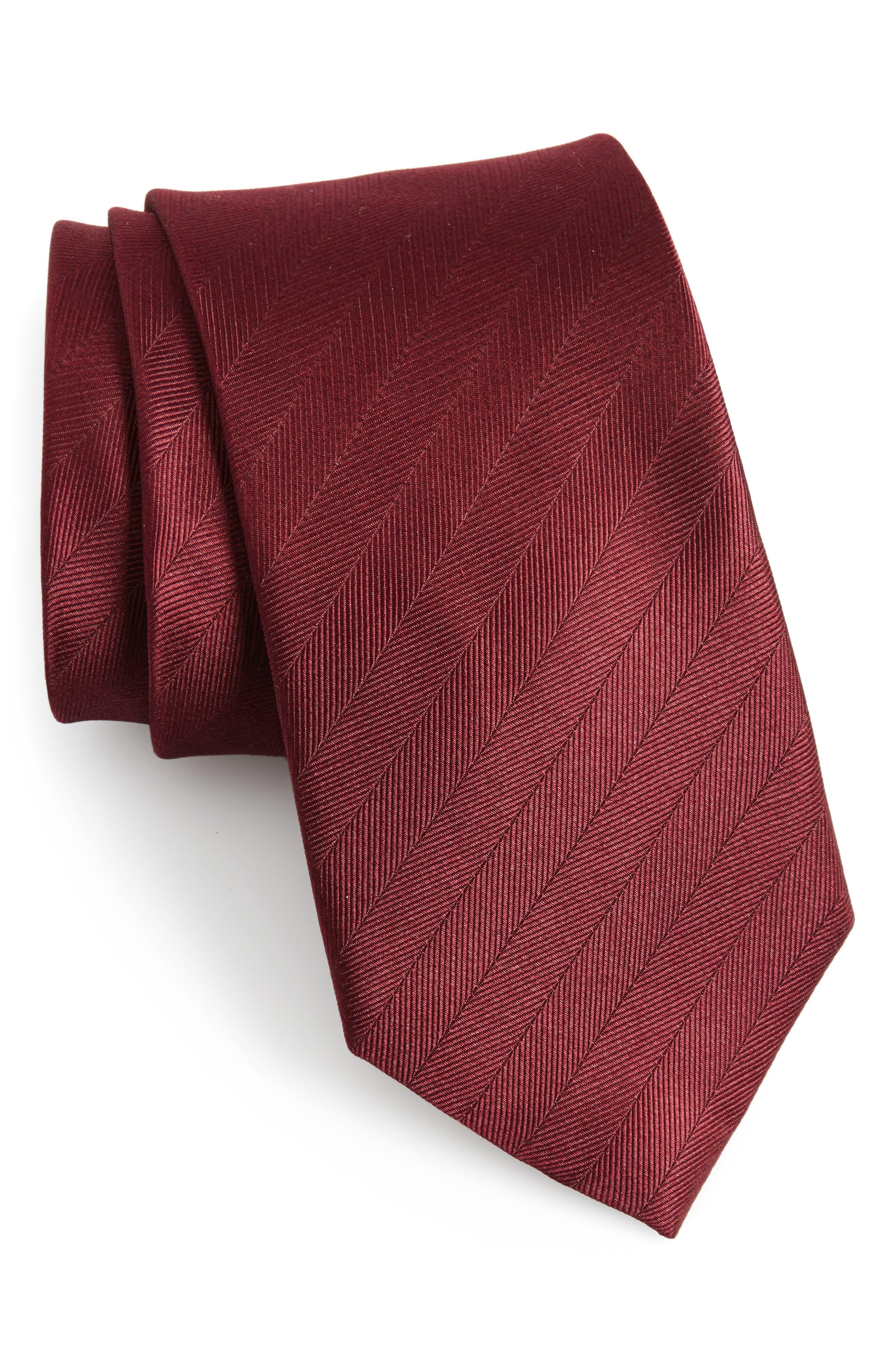 Herringbone Silk Tie,                             Main thumbnail 7, color,