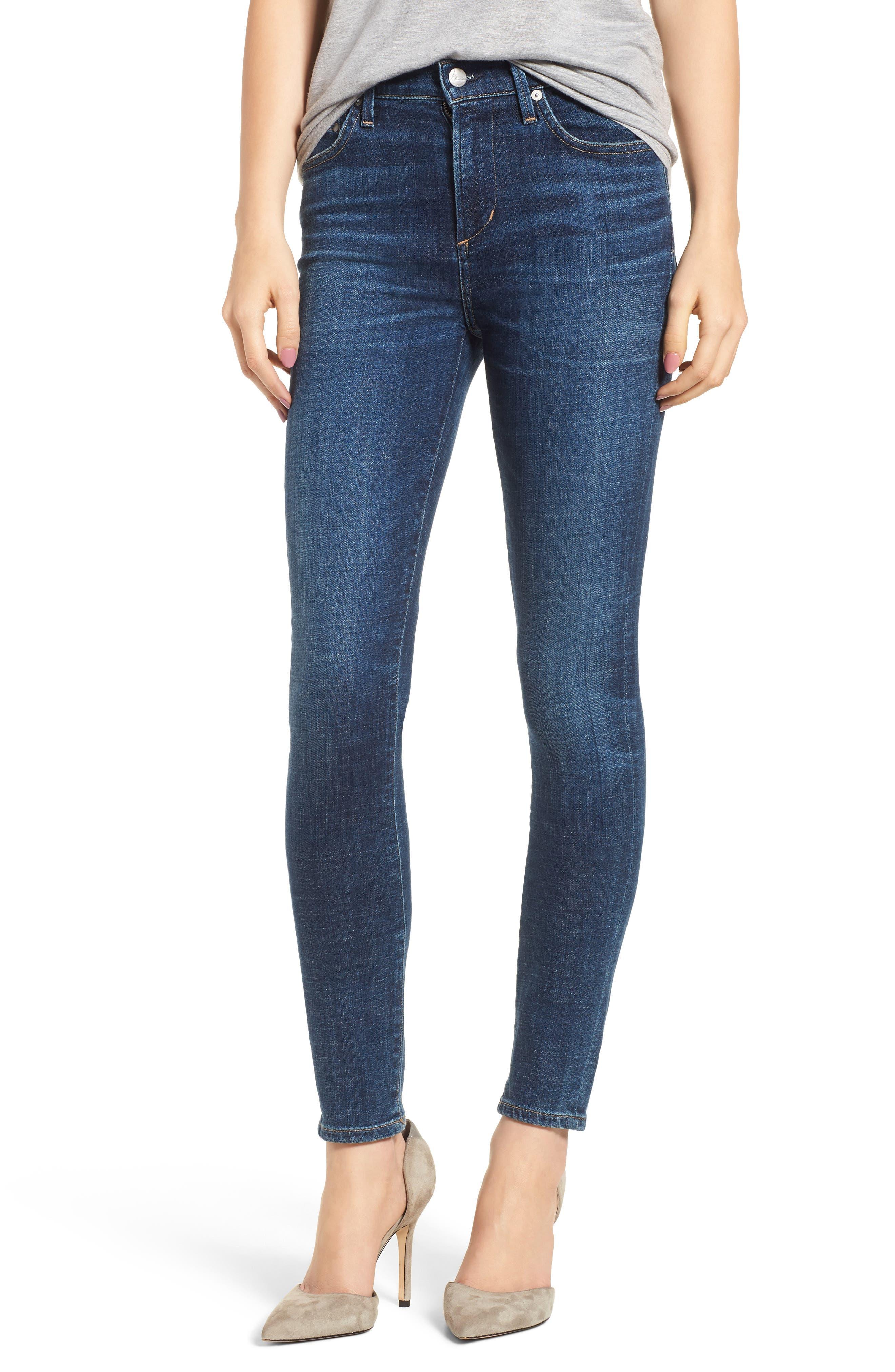 Rocket High Waist Skinny Jeans,                             Main thumbnail 1, color,                             428