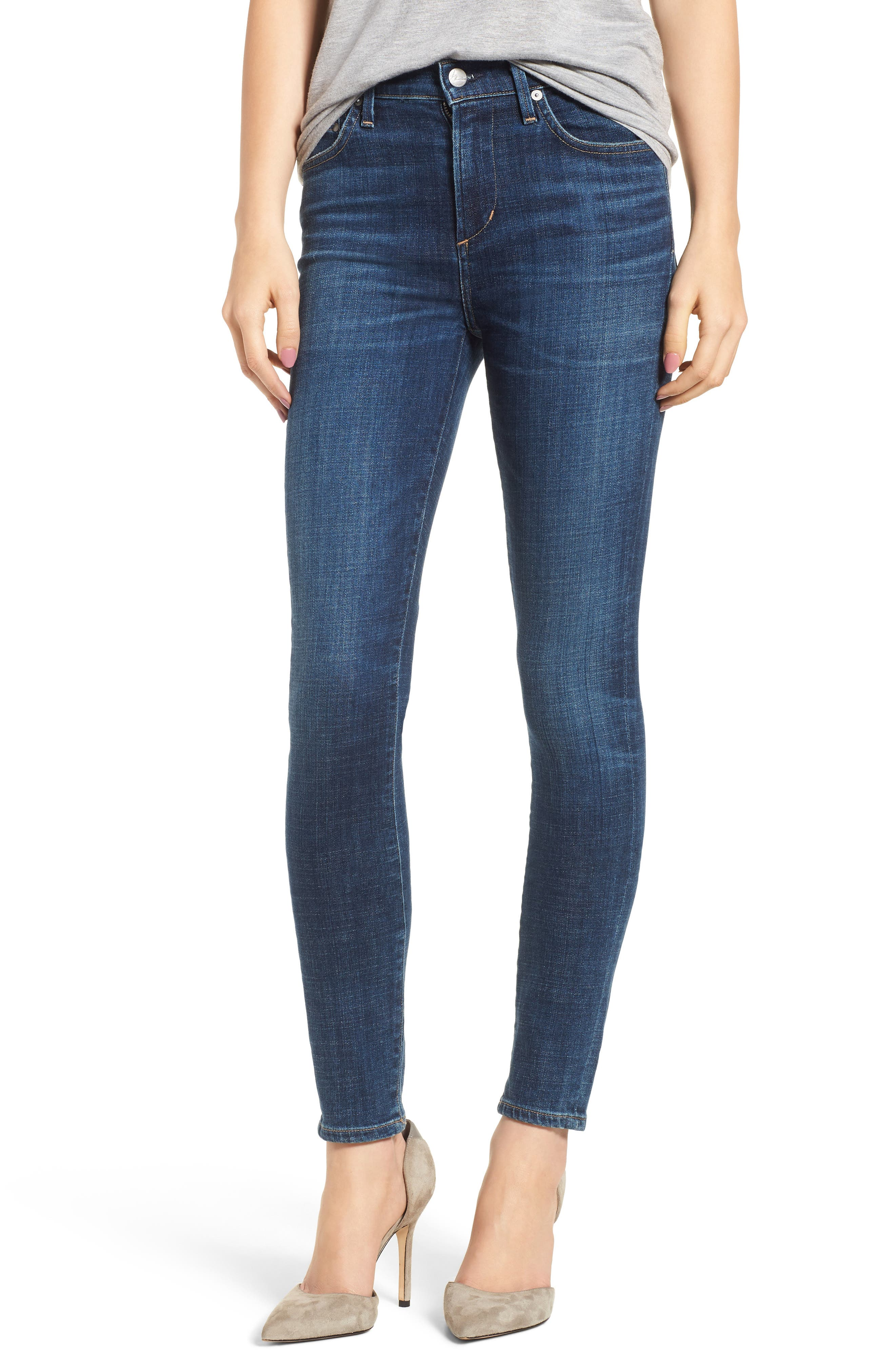 Rocket High Waist Skinny Jeans,                         Main,                         color, 428