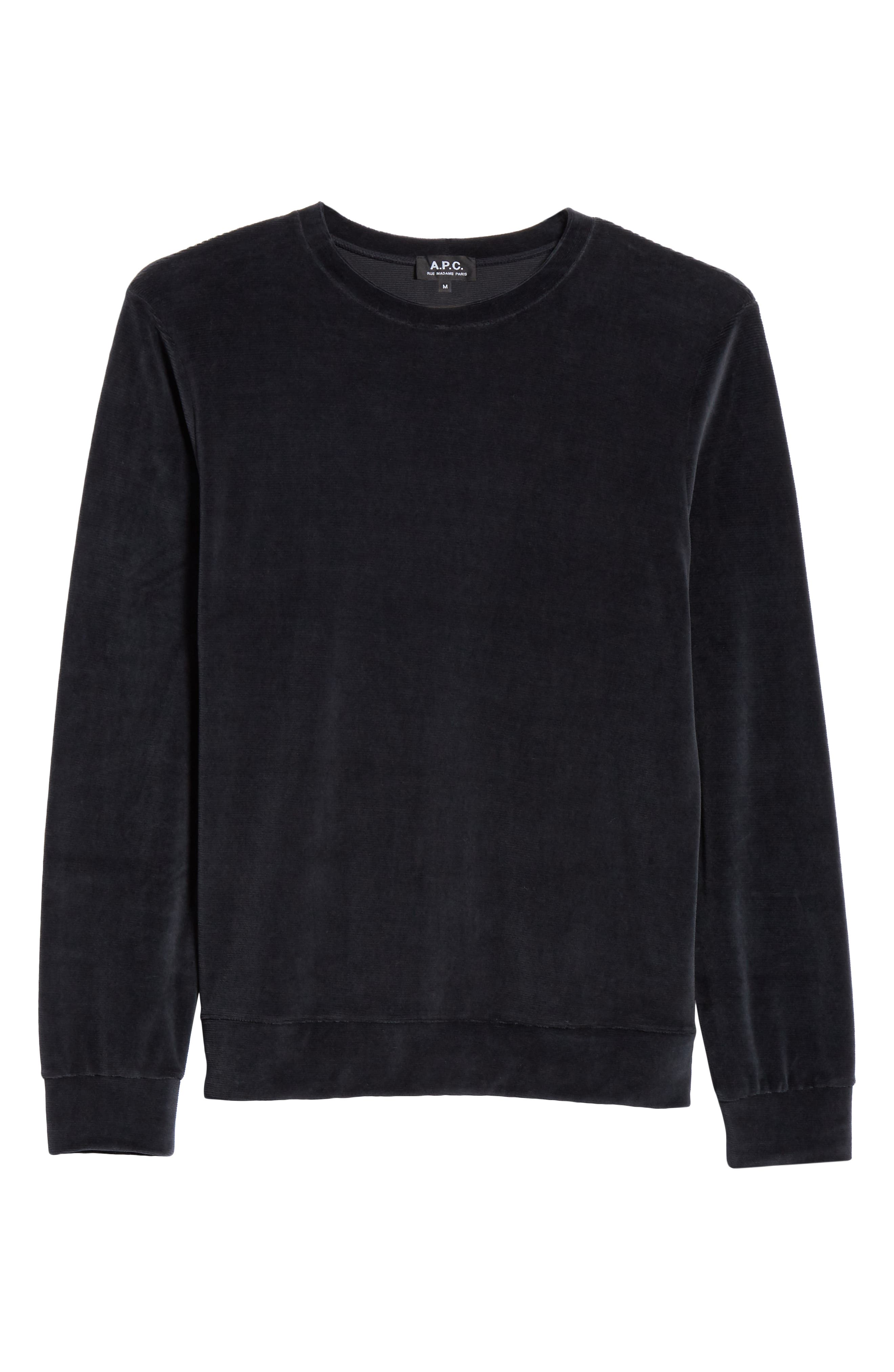 Jerome Velour Sweater,                             Alternate thumbnail 6, color,                             410