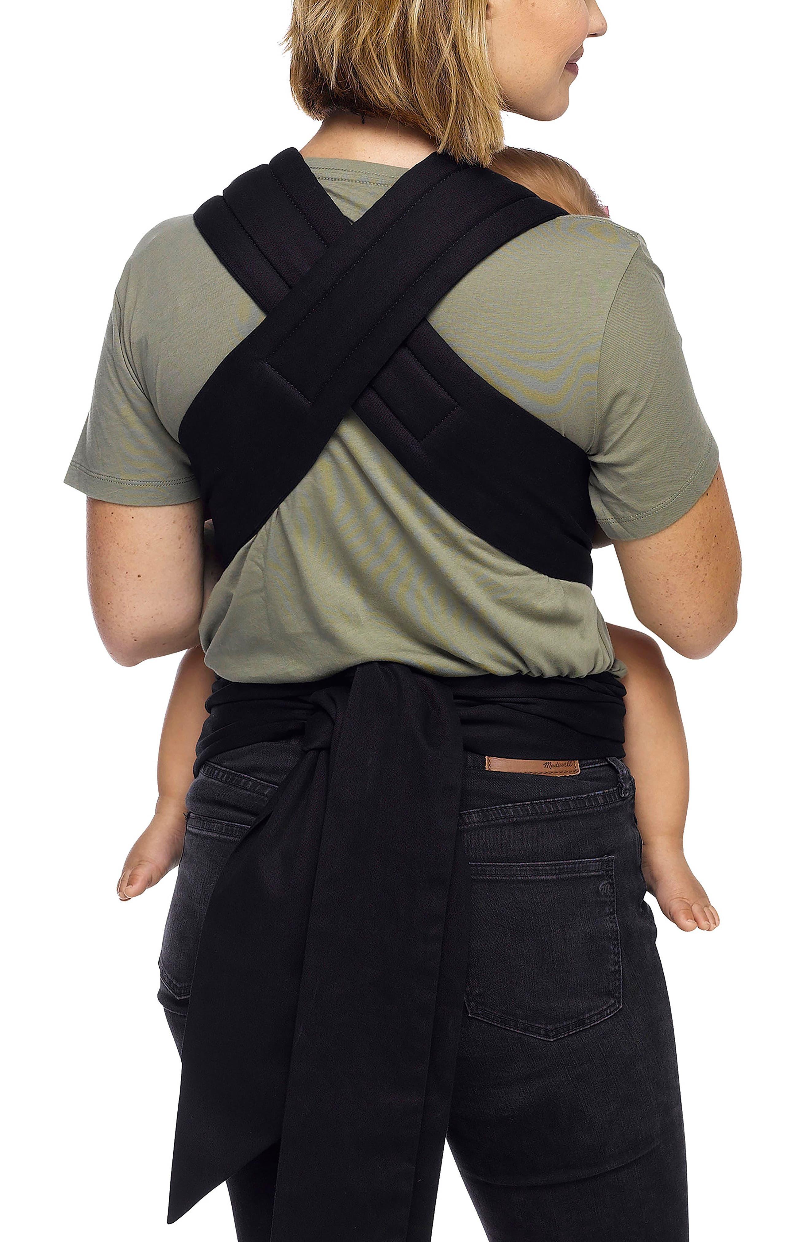 Wrap Double Tie Baby Carrier,                             Alternate thumbnail 3, color,                             001