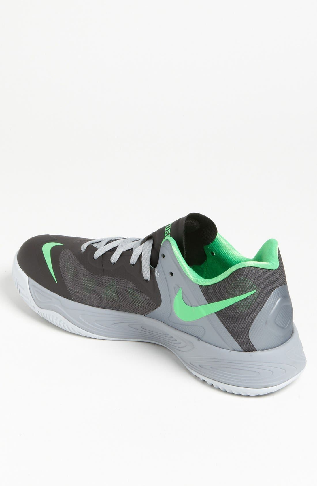 NIKE,                             'Hyperfuse Low' Basketball Shoe,                             Alternate thumbnail 3, color,                             004