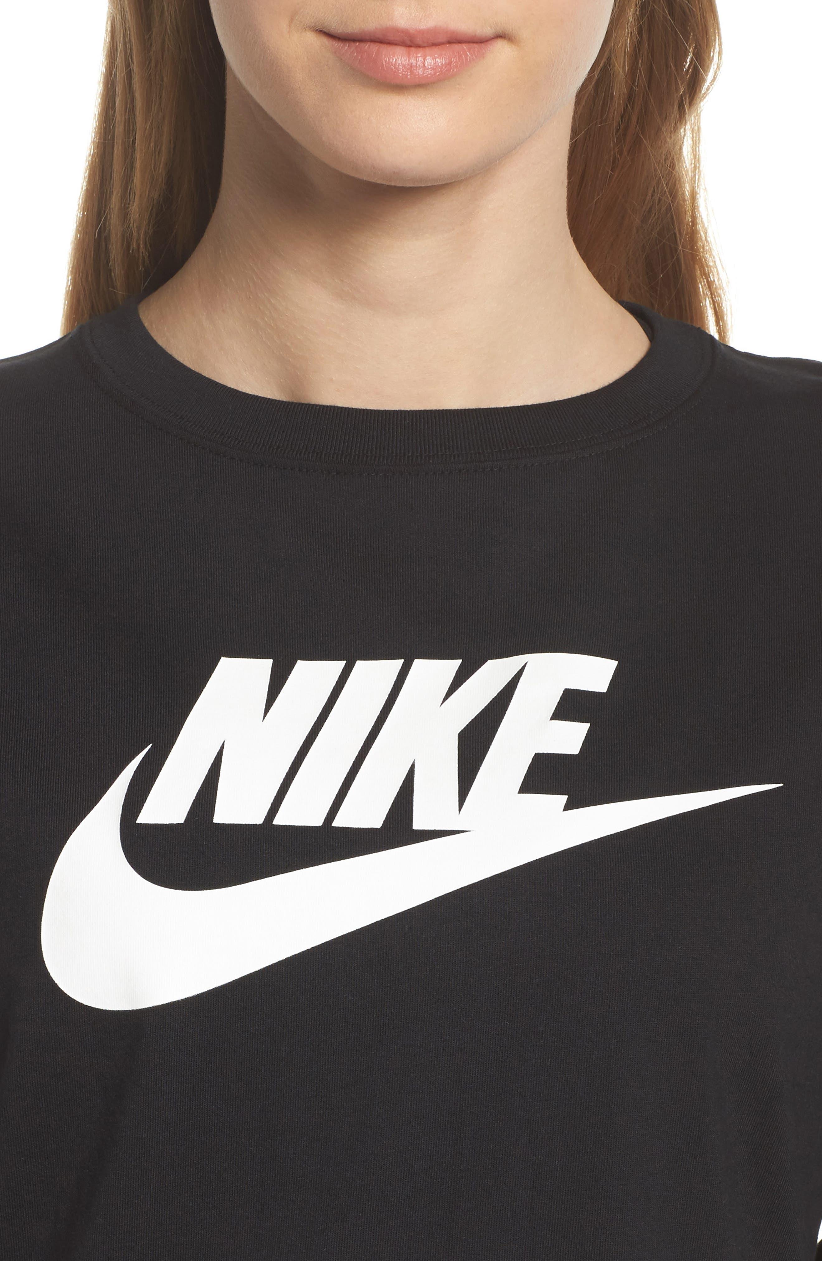 Sportswear HBR Women's Long Sleeve Tee,                             Alternate thumbnail 7, color,                             010