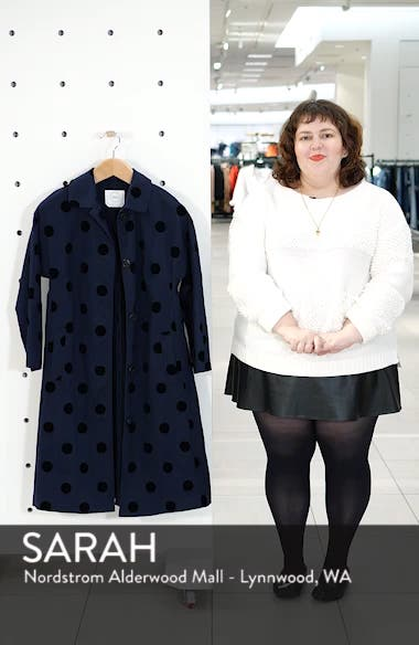 Polka Dot Swing Coat, sales video thumbnail