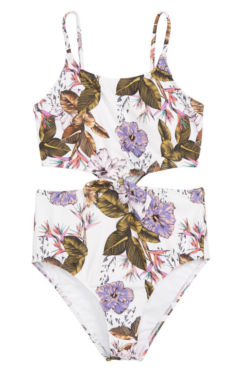 4da080994c O Neill Allure Knot One-Piece Swimsuit (Big Girls)