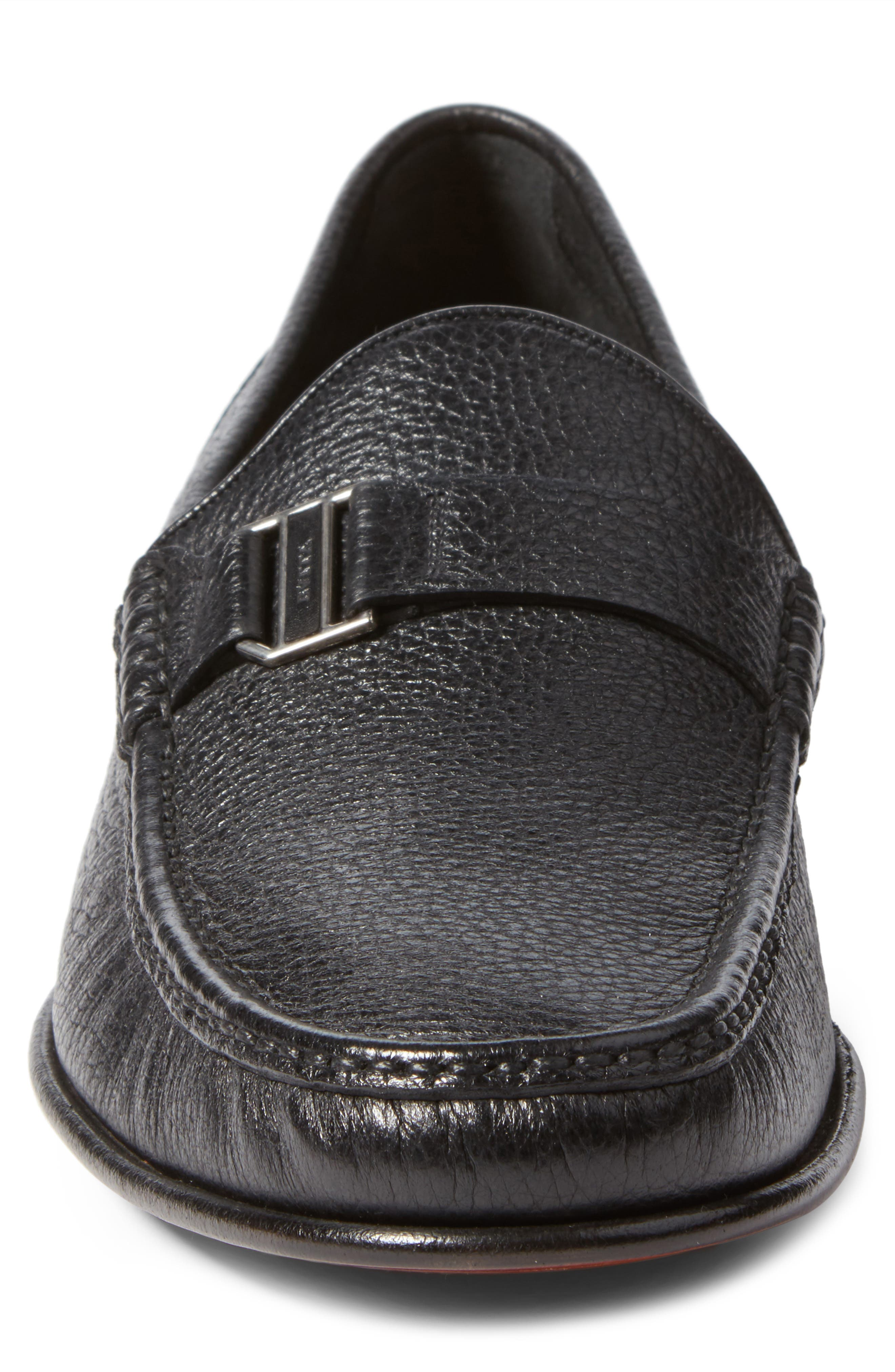 Suver Loafer,                             Alternate thumbnail 4, color,                             001