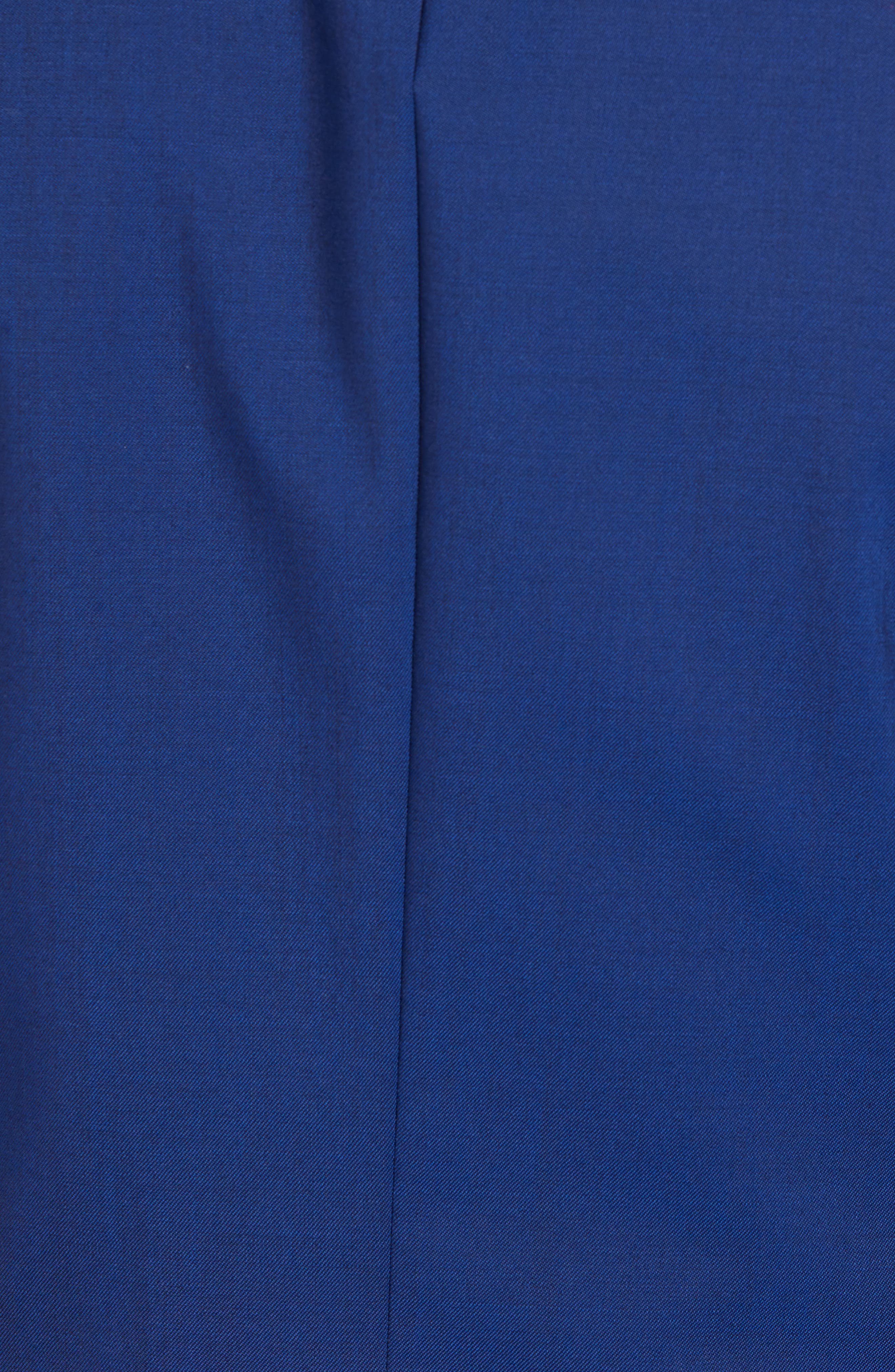 Jetsetter Slim Fit Stretch Wool Blazer,                             Alternate thumbnail 6, color,                             BRILLIANT NAVY