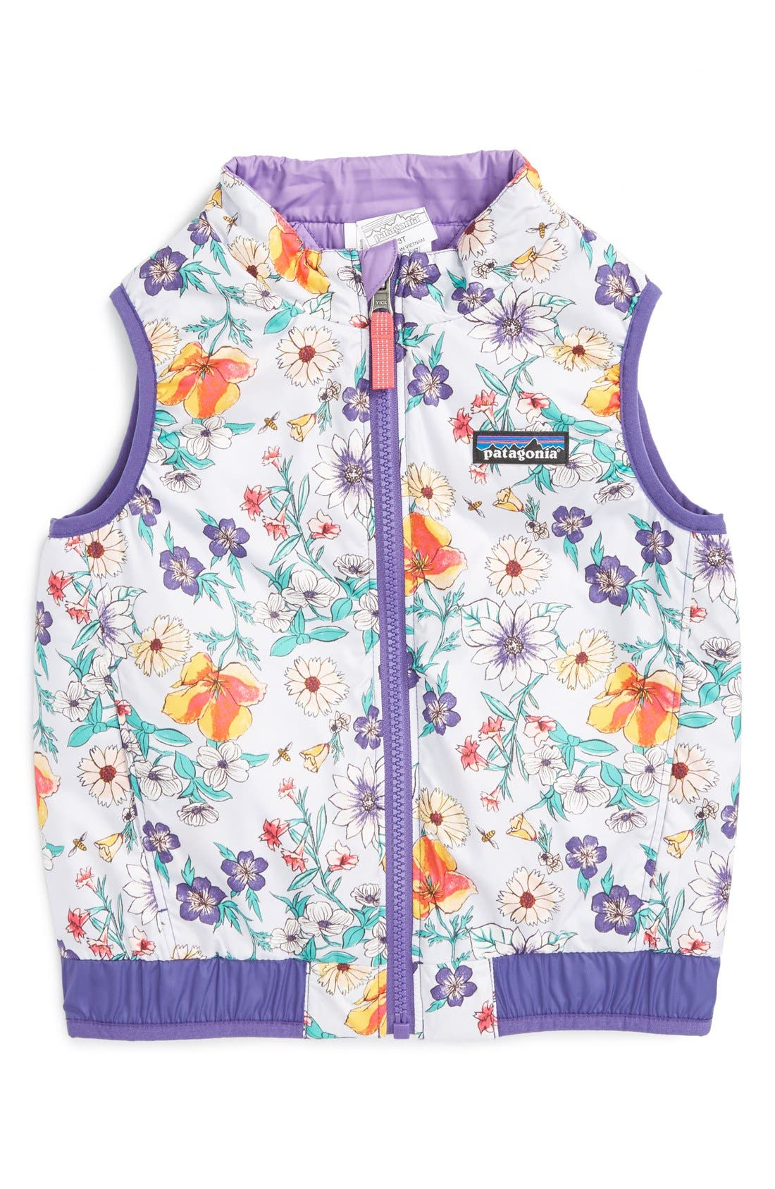 'Puff-Ball' Water Resistant Reversible Vest,                             Main thumbnail 4, color,