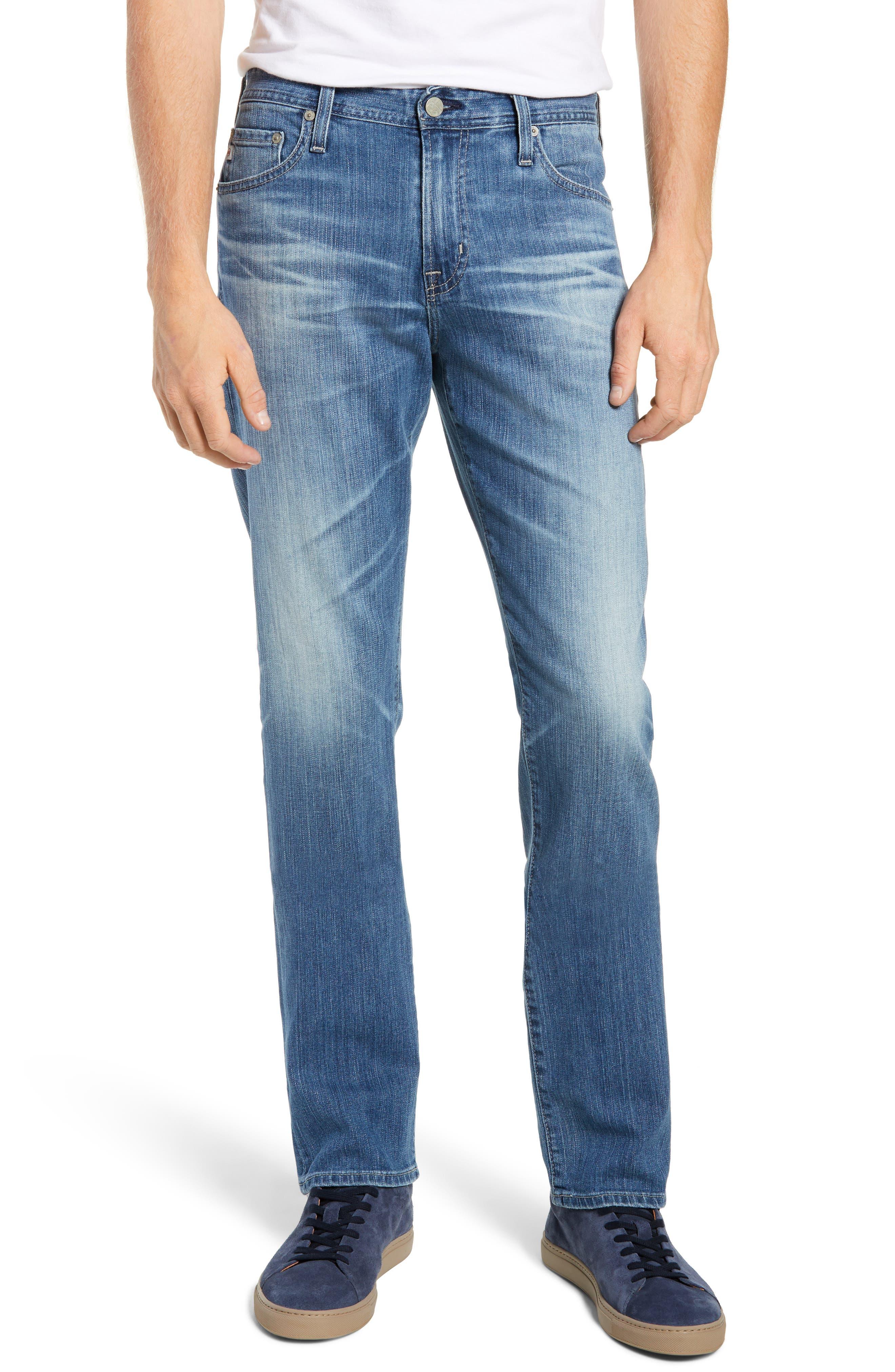 Everett Slim Straight Leg Jeans,                         Main,                         color, 14 YEARS ENGAGEMENT