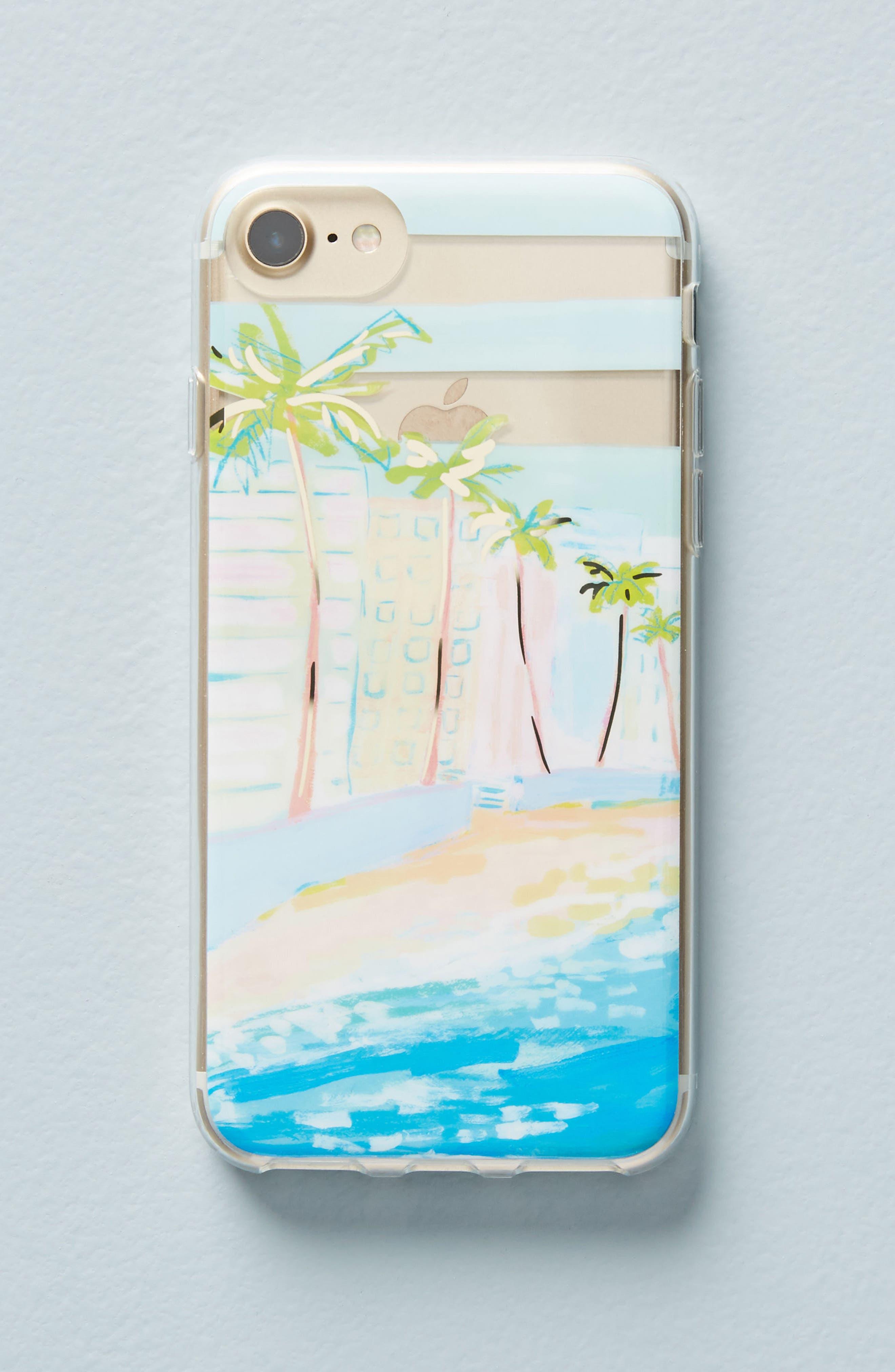 Venice Beach iPhone 6/6s/7/8 Case,                             Main thumbnail 1, color,                             415