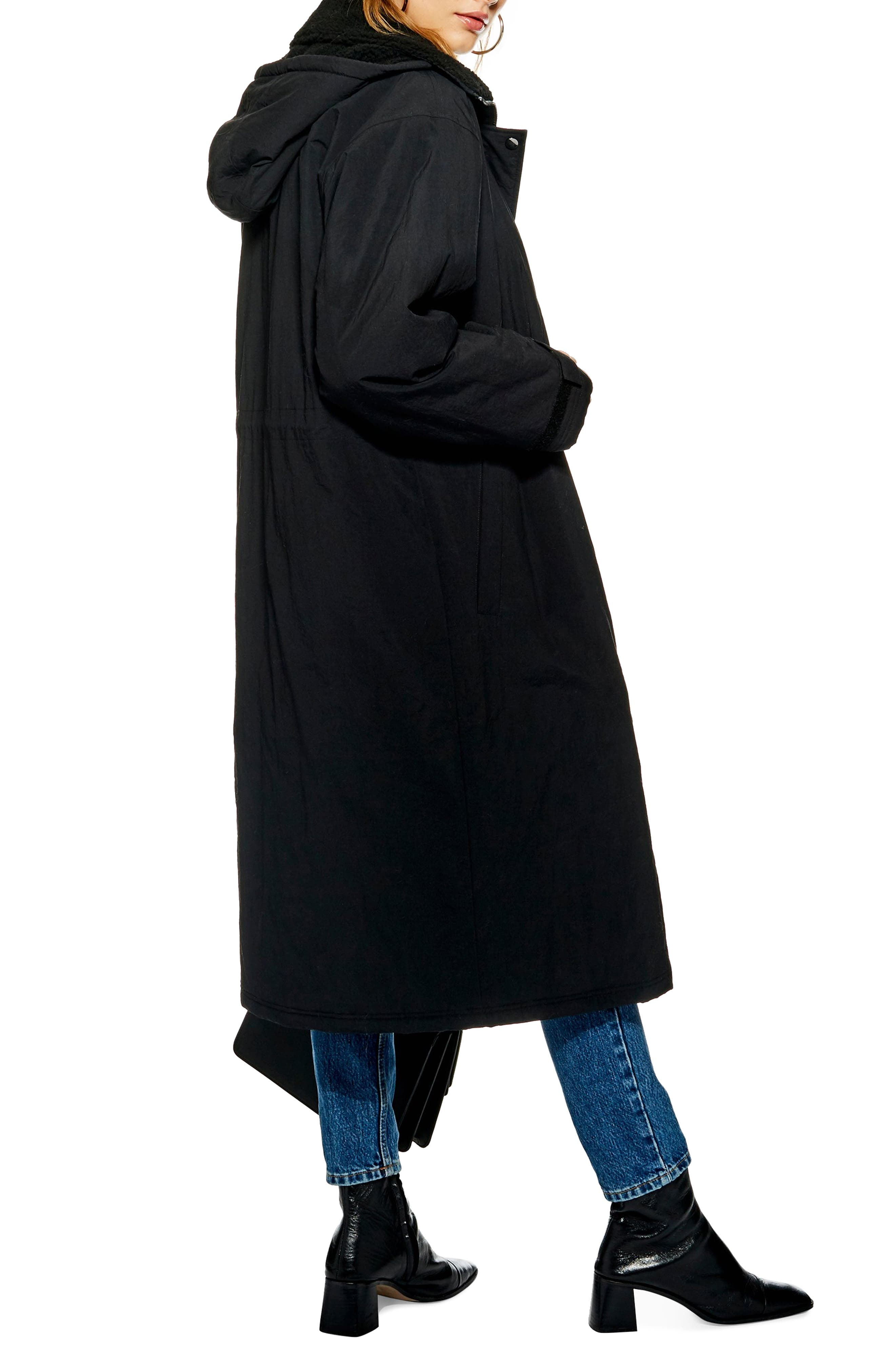 Andy Long Hooded Parka,                             Alternate thumbnail 2, color,                             001