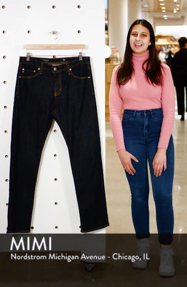 'Graduate' Slim Straight Leg Jeans, sales video thumbnail