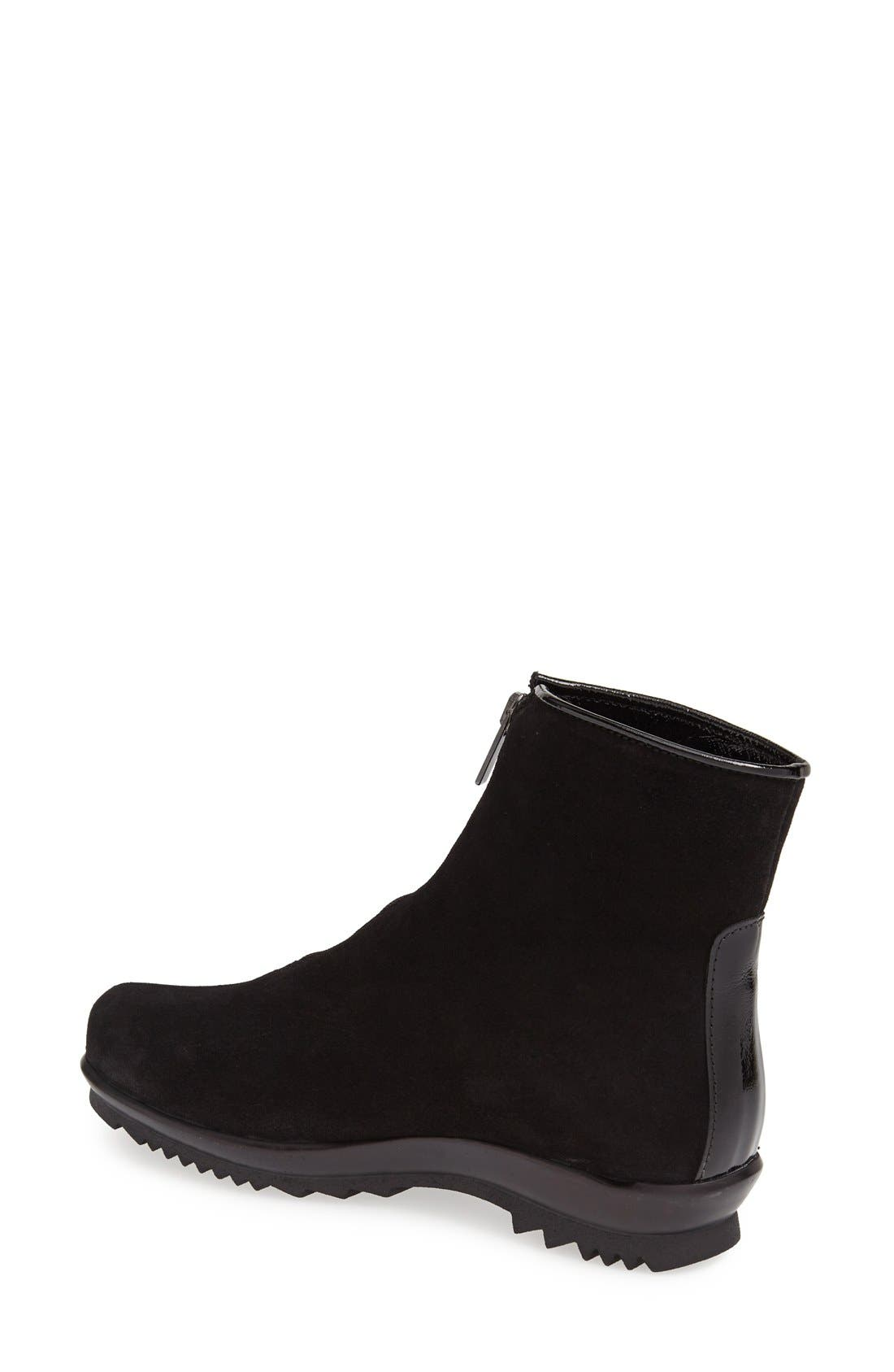 'Tiana' Water Resistant Boot,                             Alternate thumbnail 2, color,                             BLACK
