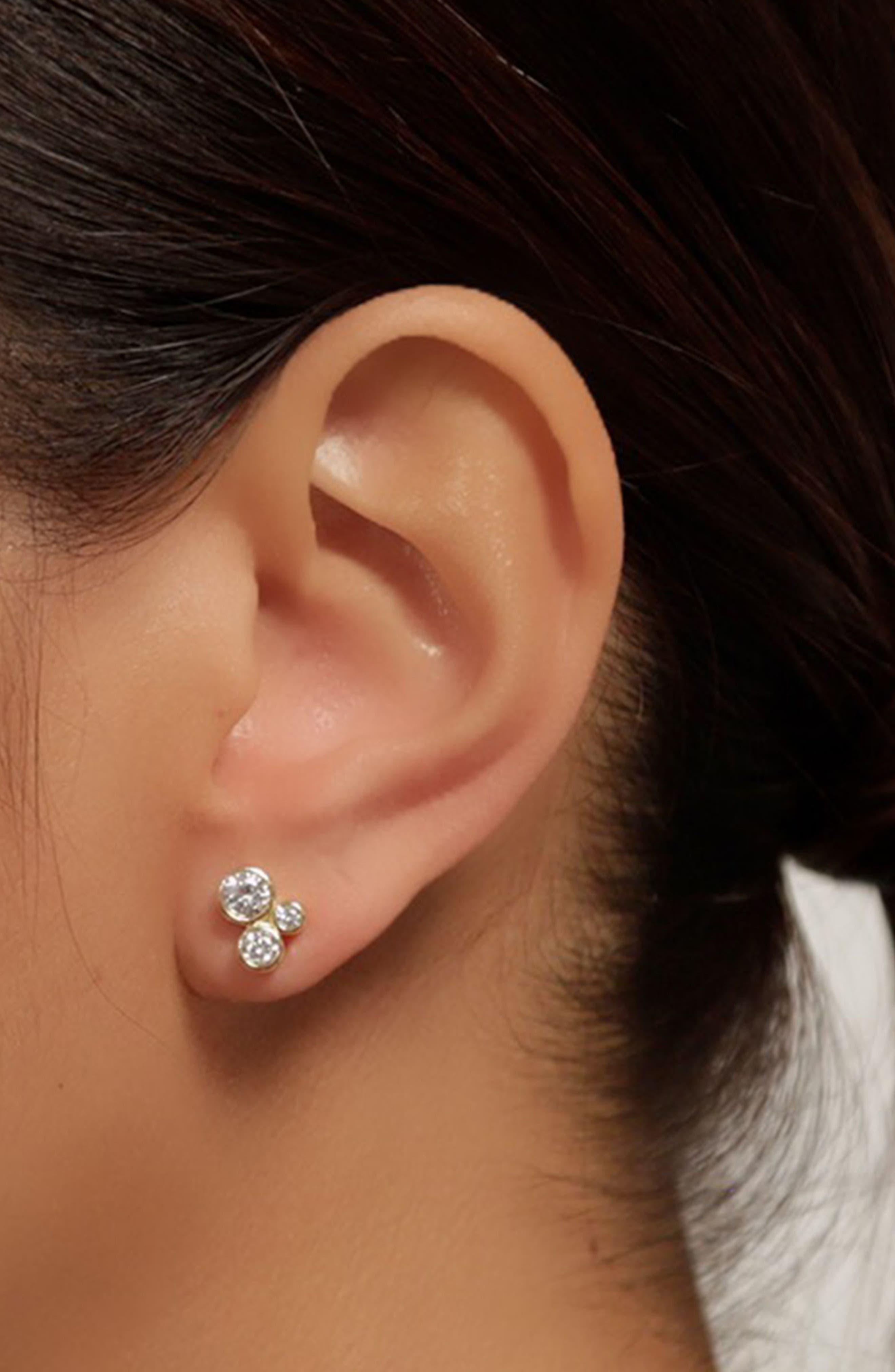 Jasmine Stud Earrings,                             Alternate thumbnail 6, color,