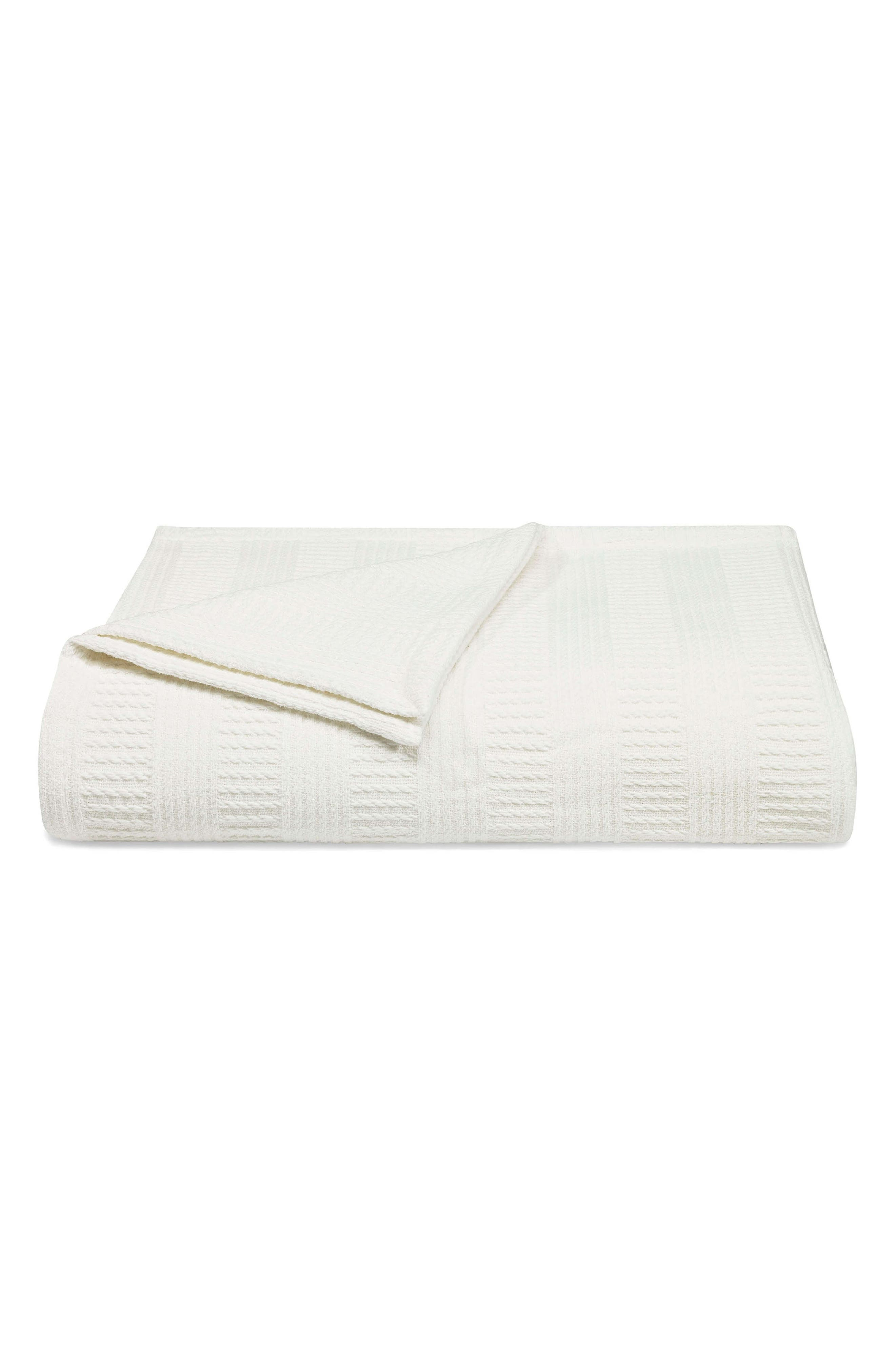 Rope Stripe Blanket,                             Main thumbnail 1, color,                             100