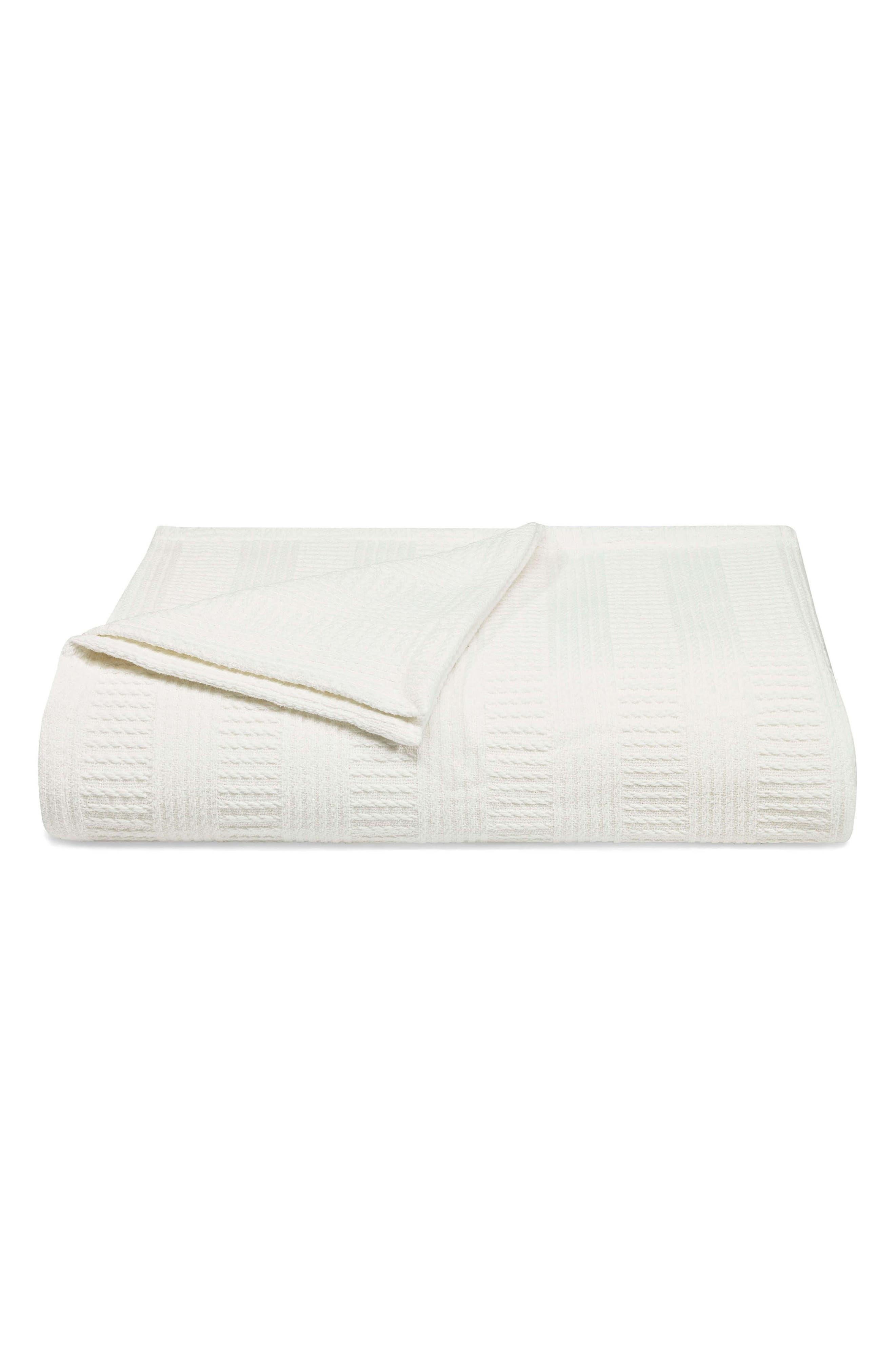Rope Stripe Blanket,                         Main,                         color, 100