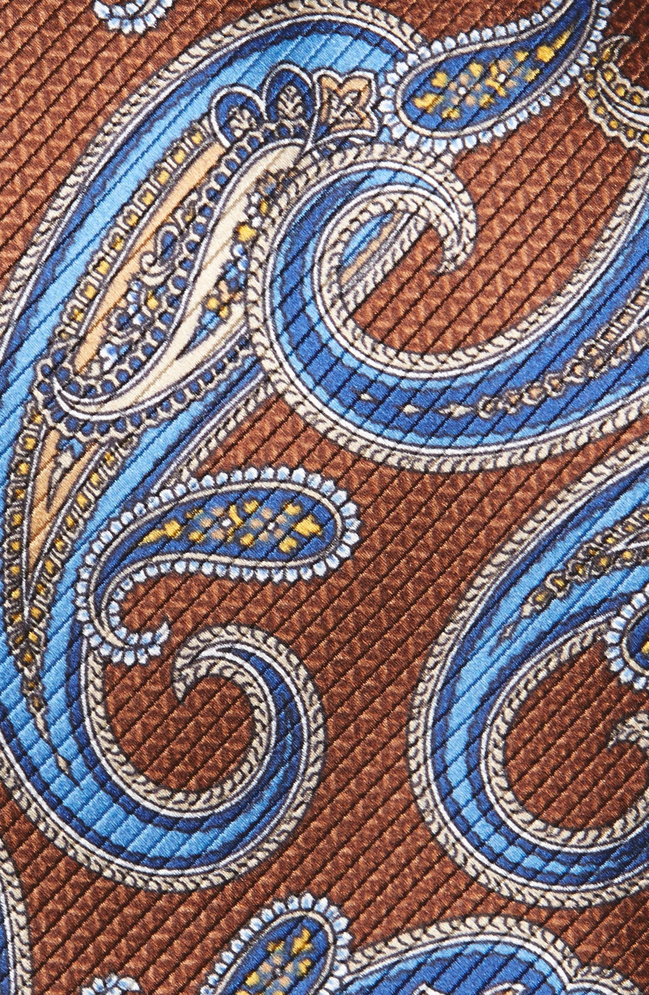 Paisley Silk Tie,                             Alternate thumbnail 2, color,                             212