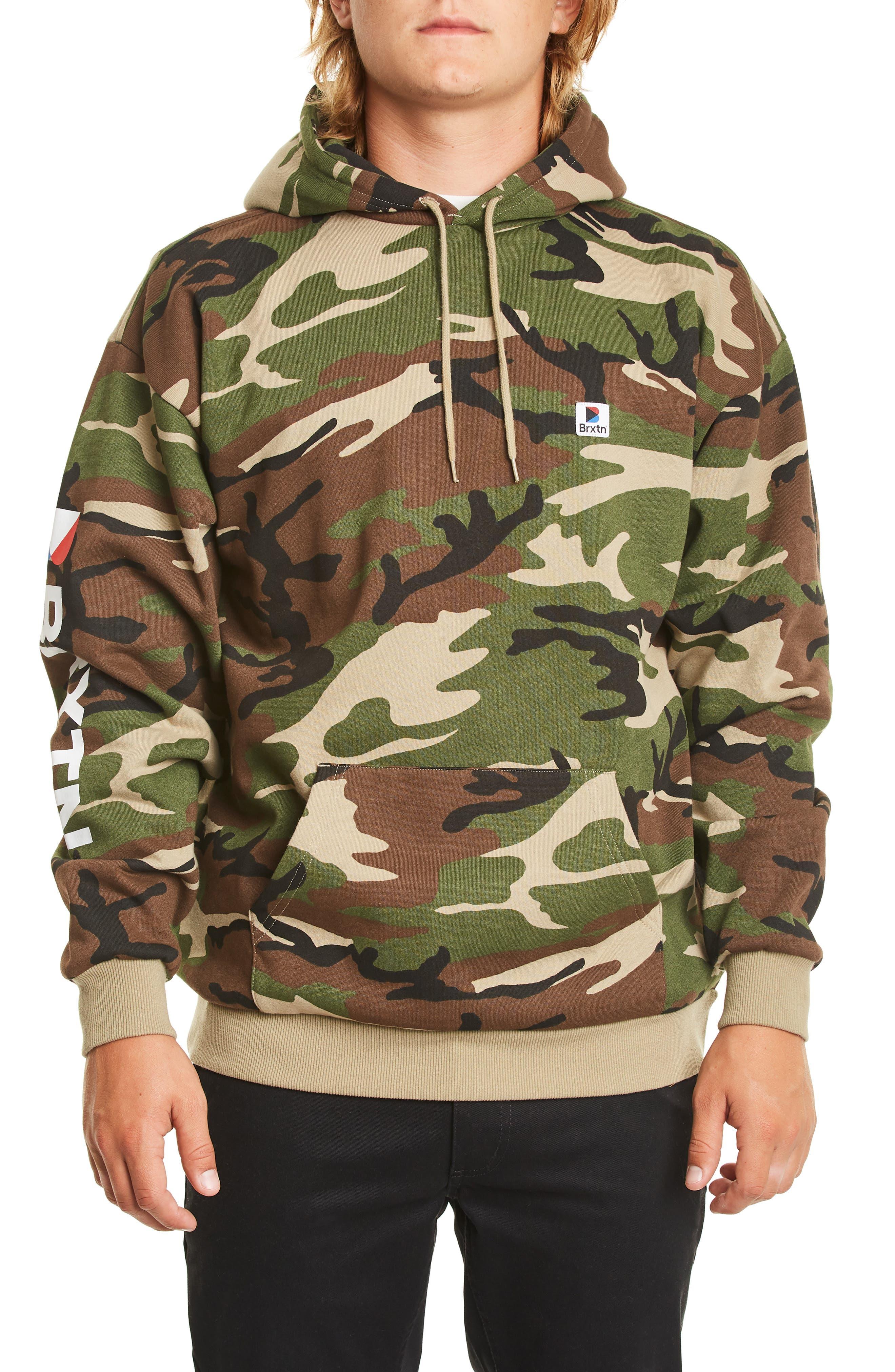 Stowell Hoodie Sweatshirt,                         Main,                         color, CAMO