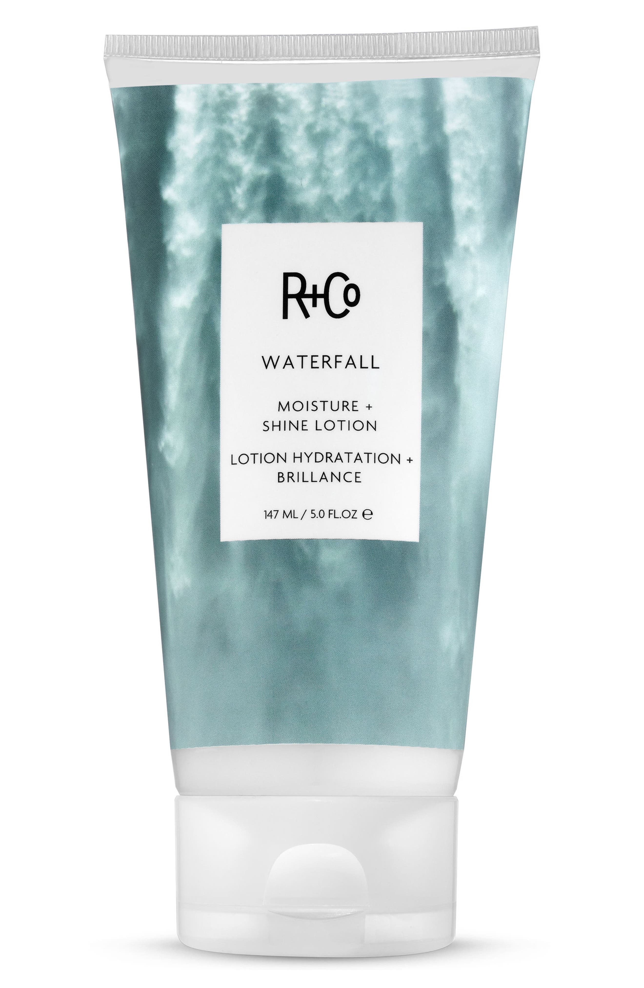 SPACE.NK.apothecary R+Co Waterfall Moisture Shine Lotion,                             Main thumbnail 1, color,                             NO COLOR