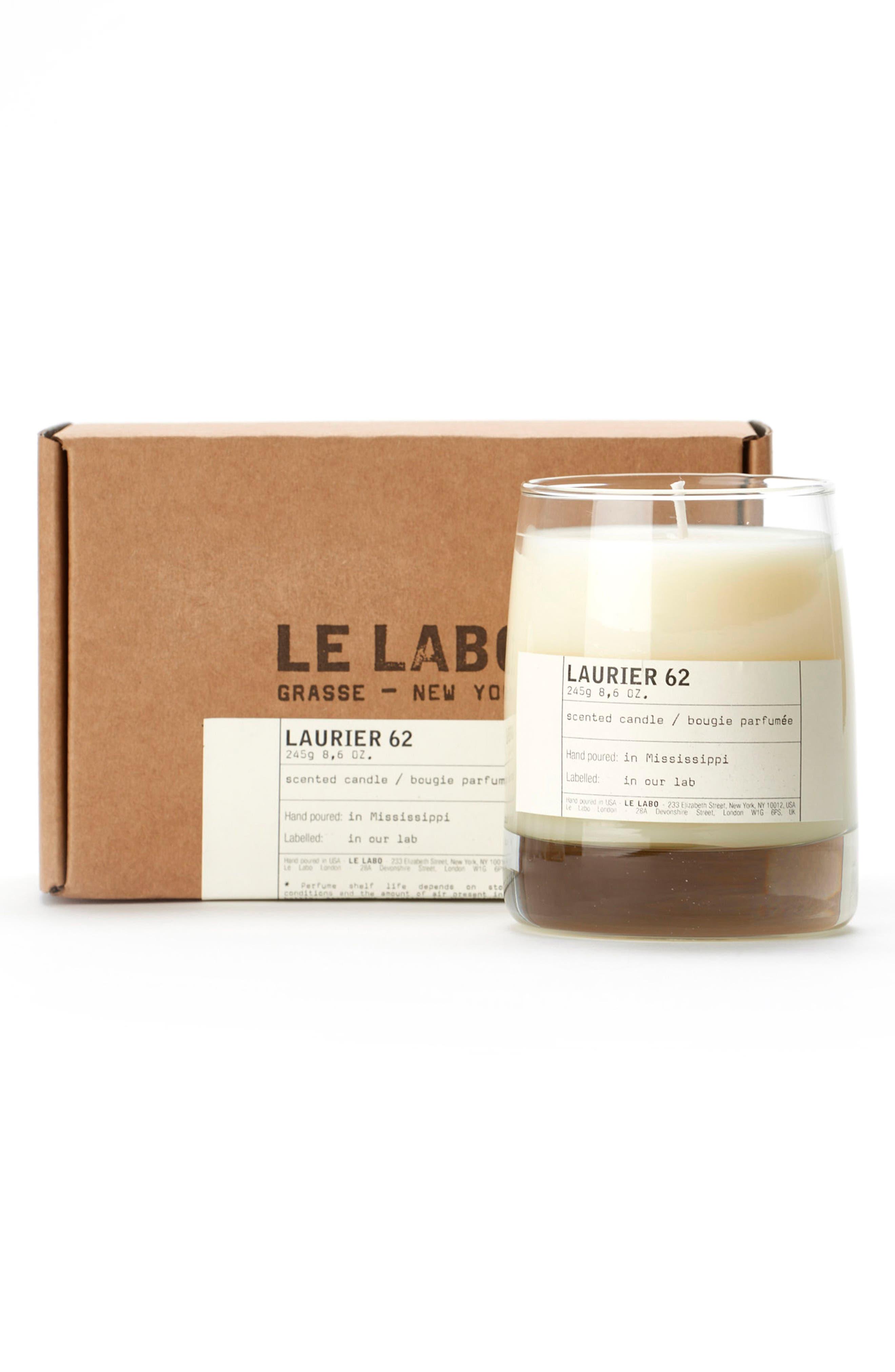 'Laurier 62' Classic Candle,                             Alternate thumbnail 2, color,                             000