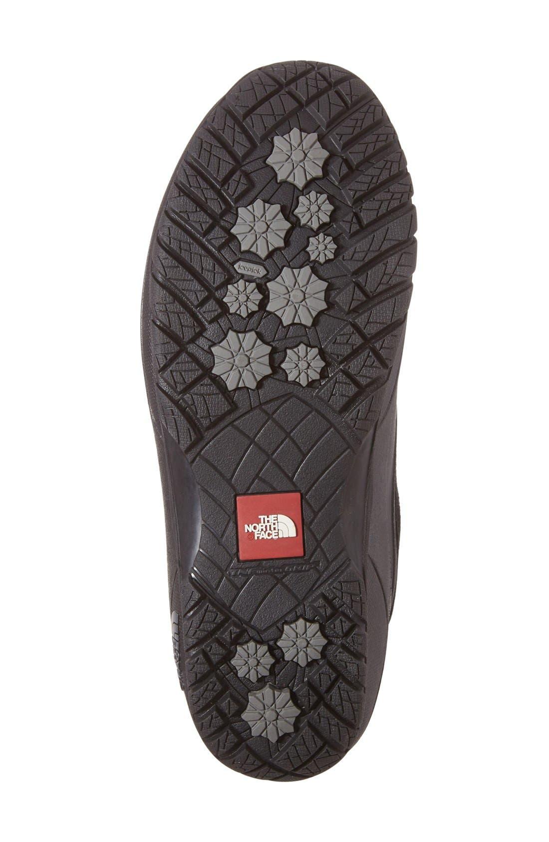 Shellista II Waterproof Boot,                             Alternate thumbnail 4, color,                             BLACK/ SMOKED PEARL GREY