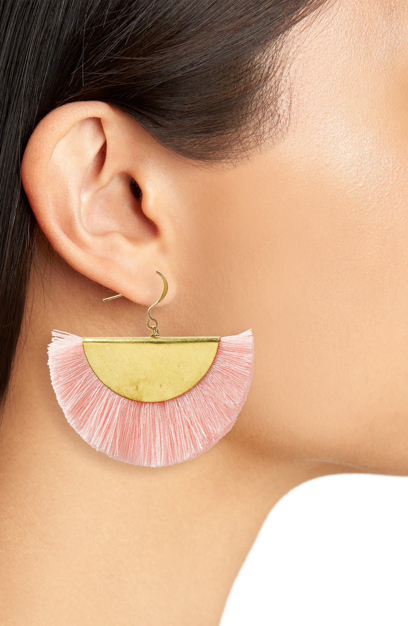 Fan Earrings,                             Alternate thumbnail 2, color,                             950