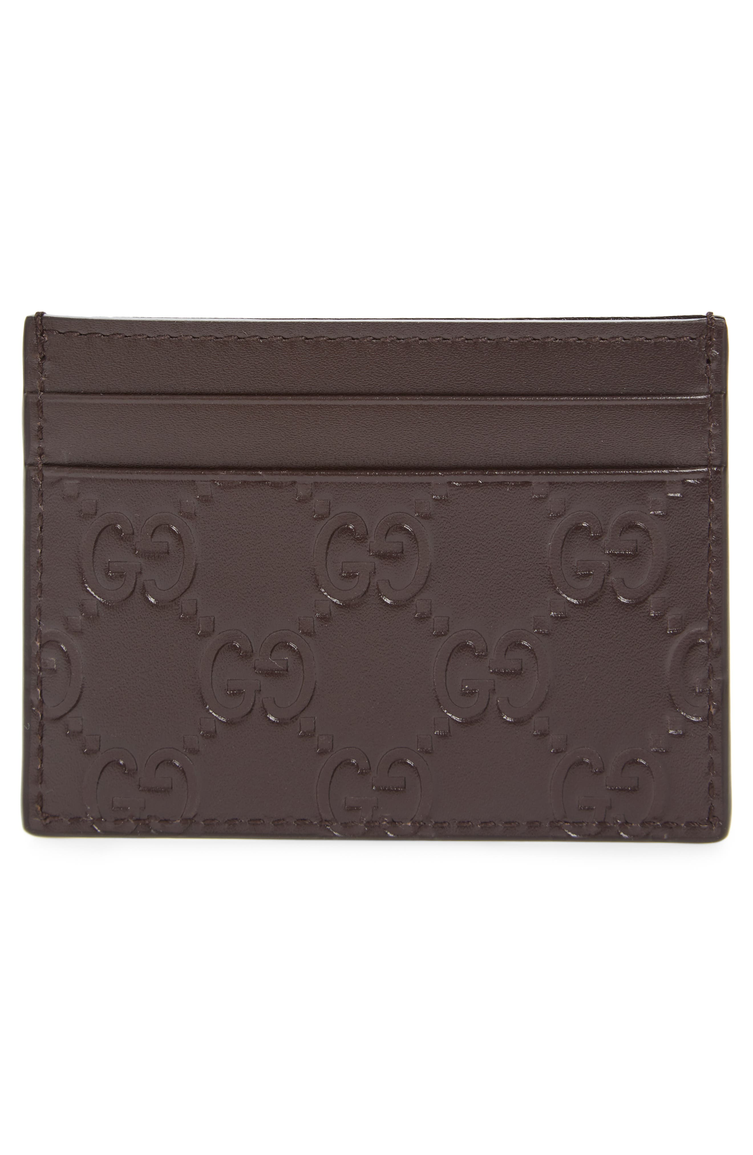 Leather Card Case,                             Alternate thumbnail 4, color,