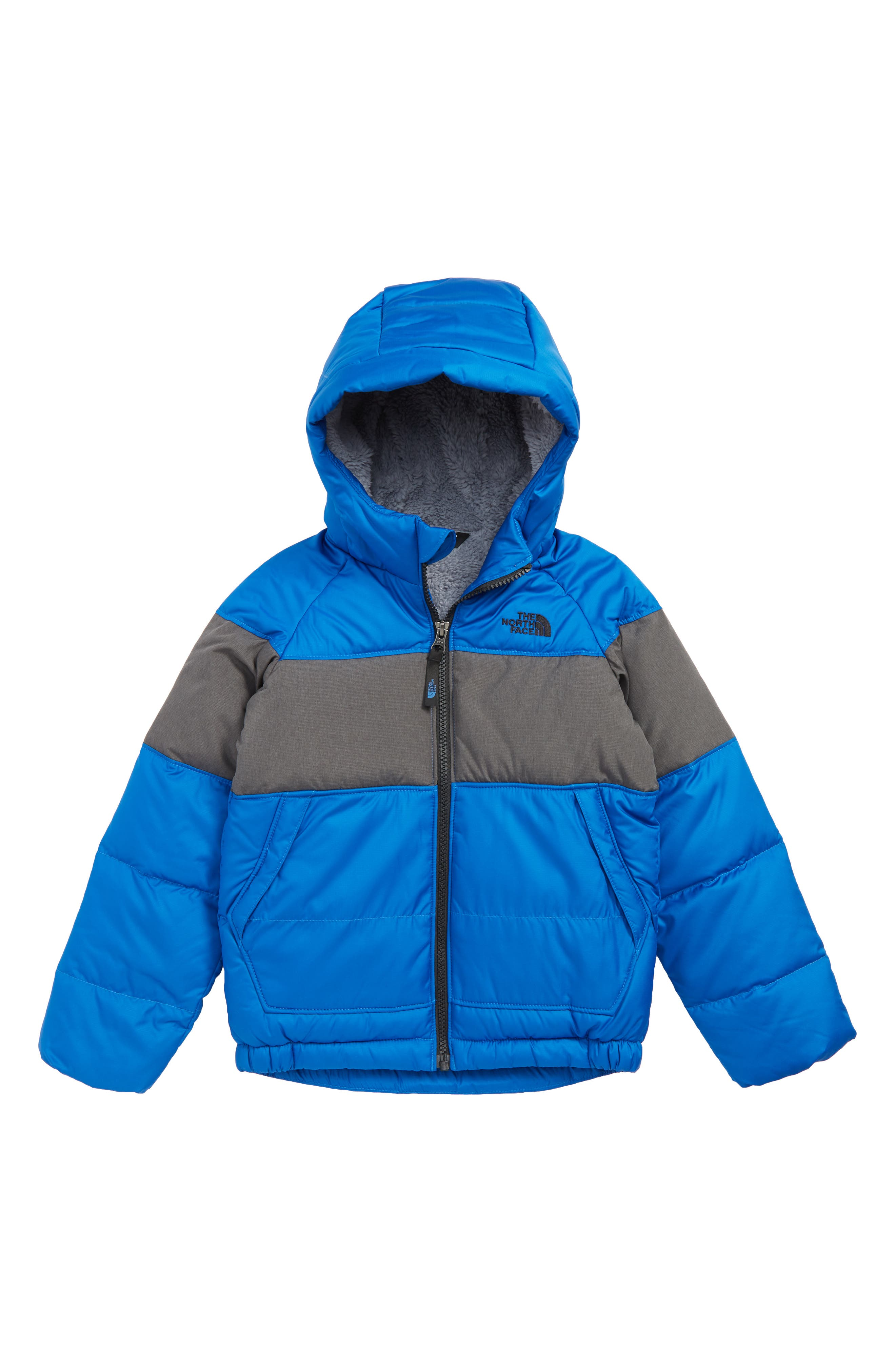 THE NORTH FACE Moondoggy 2.0 Hooded Down Jacket, Main, color, TURKISH SEA