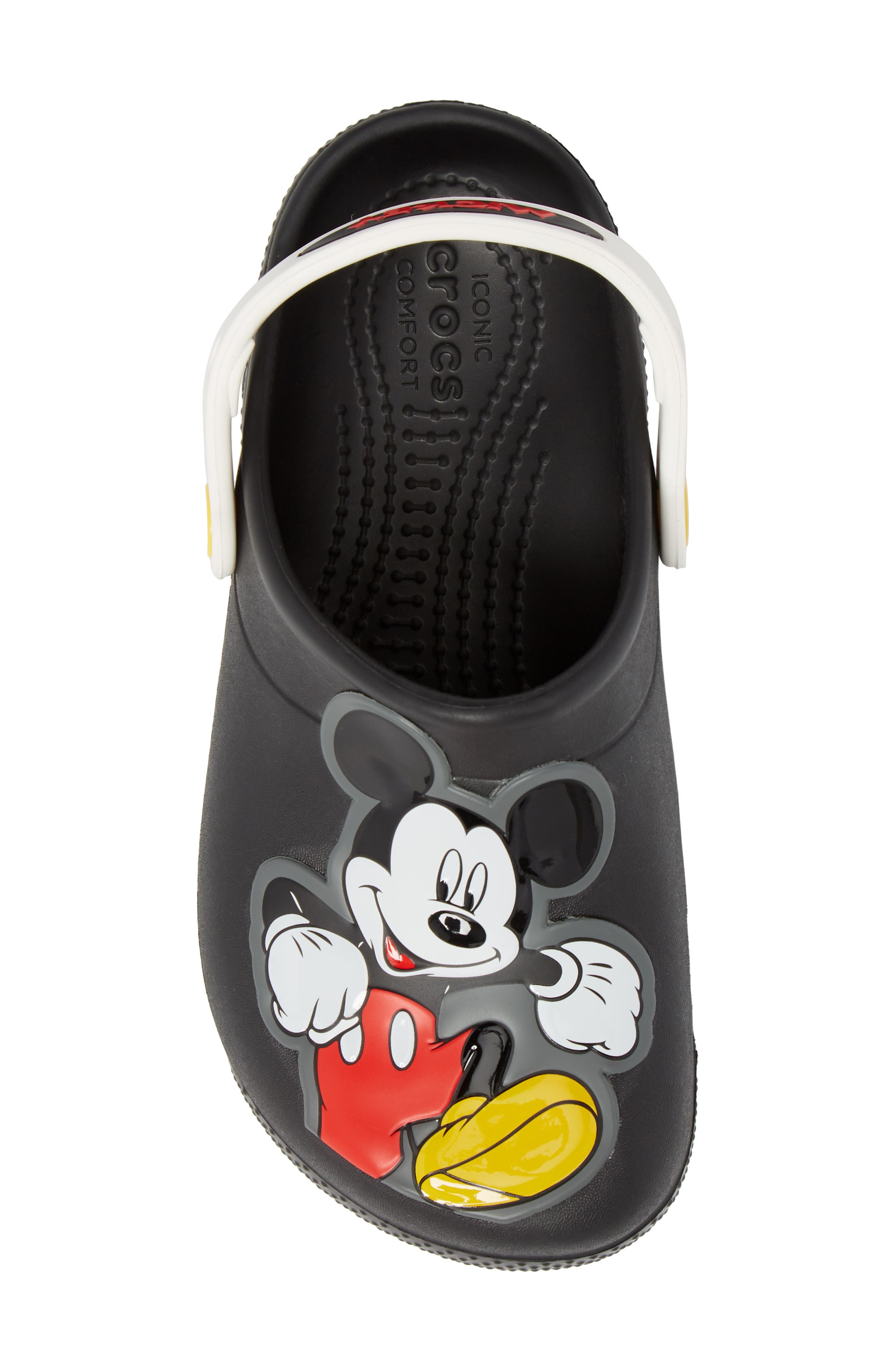 Fun Lab Mickey Mouse<sup>®</sup> Clog,                             Alternate thumbnail 5, color,                             001