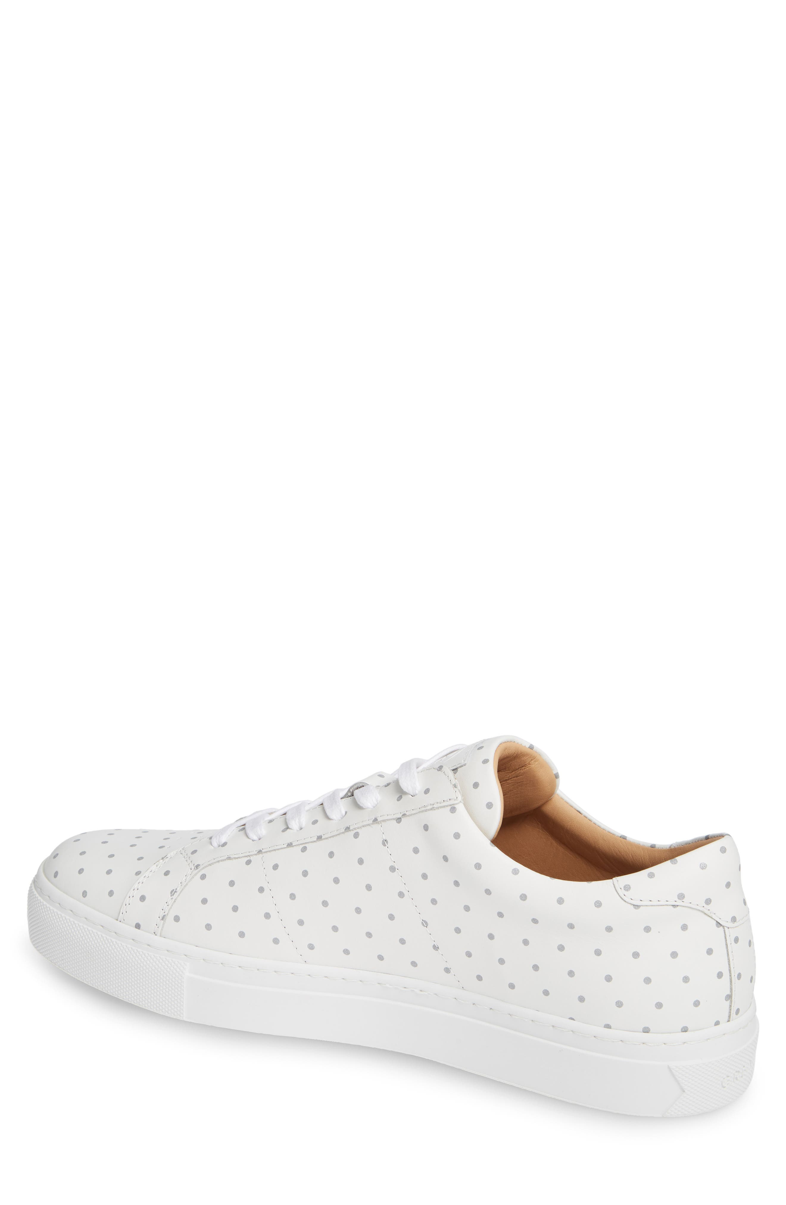 Nick Wooster x GREATS Royale Dots Low Top Sneaker,                             Alternate thumbnail 2, color,                             WHITE W/ 3M DOTS