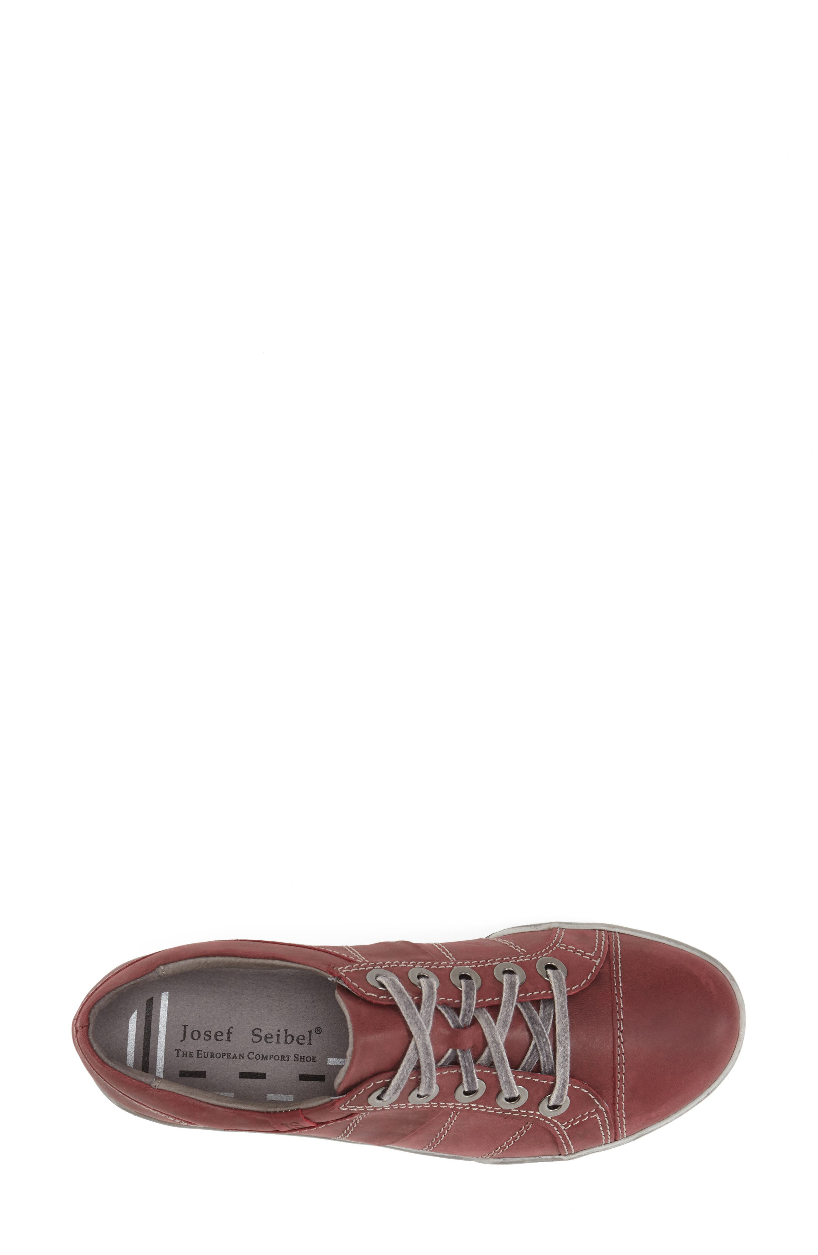 'Dany 05' Leather Sneaker,                             Alternate thumbnail 18, color,